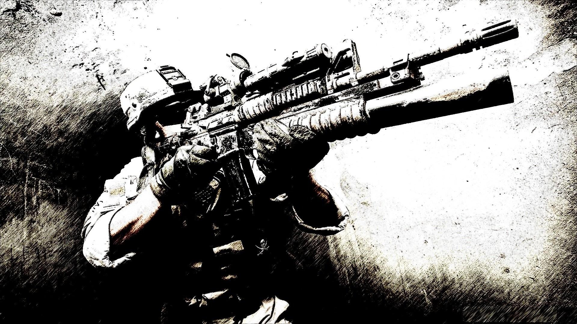 Military – Soldier Marine Wallpaper