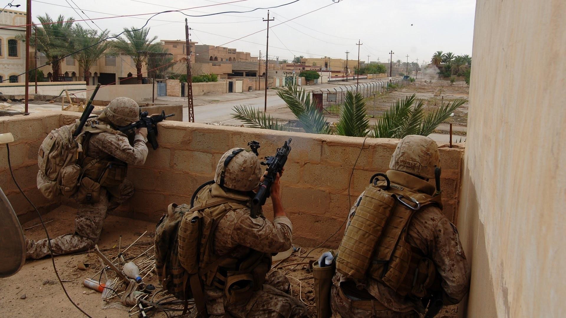 US Marines in Combat During Operation in Ramadi, Iraq War 2006 – YouTube