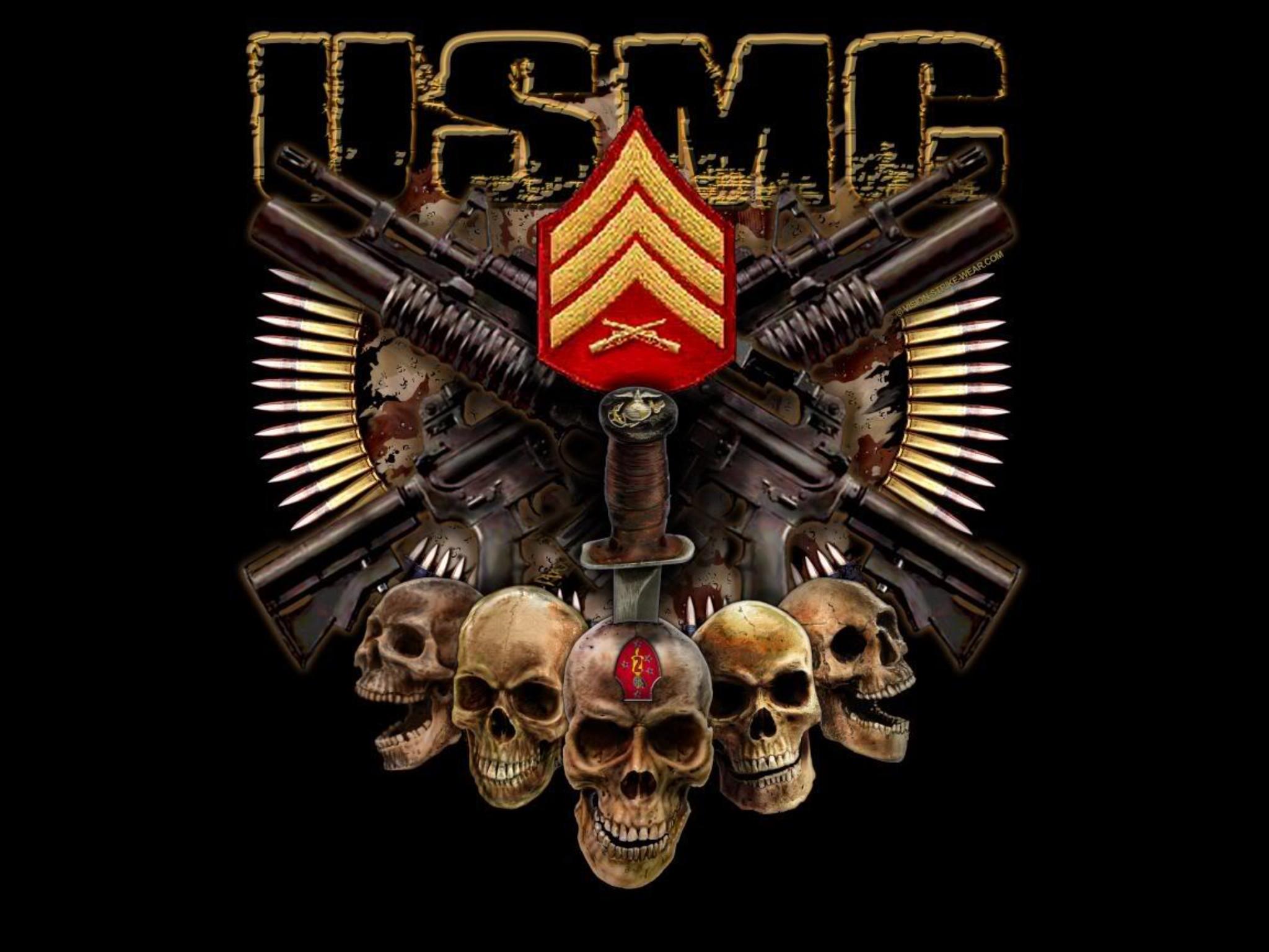 Awesome USMC wallpaper.