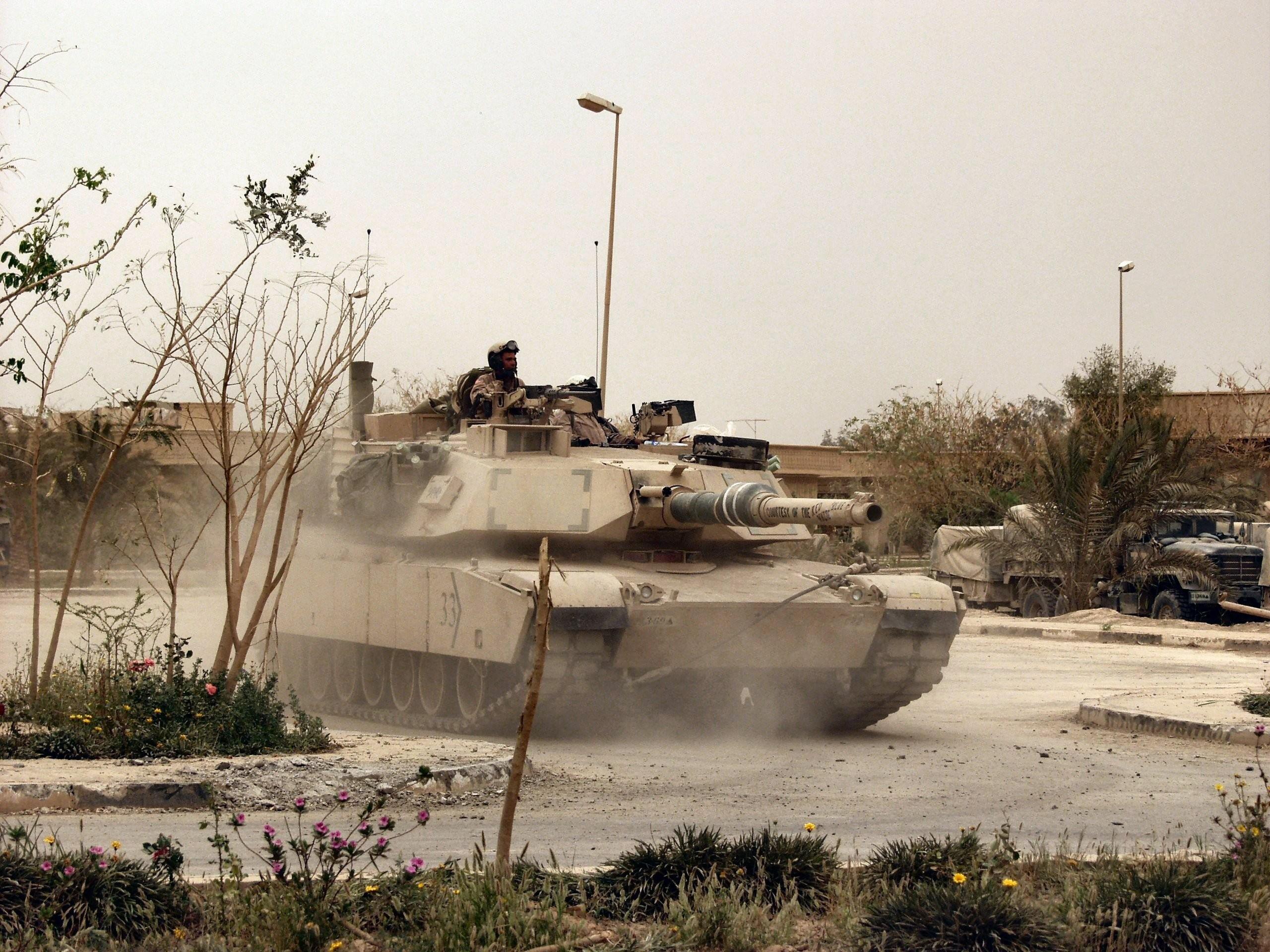 war sand army military deserts Abrams warfare fight tanks USA armored dust  terror combat armor Iraq