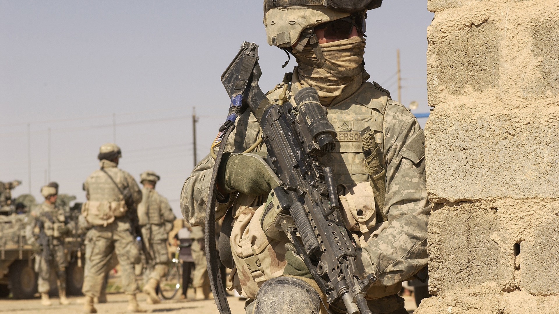 Soldiers guns military Afghanistan US Army wars wallpaper | .