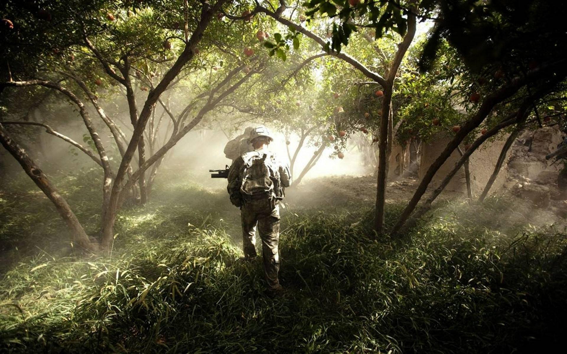 Us Infantry Wallpaper