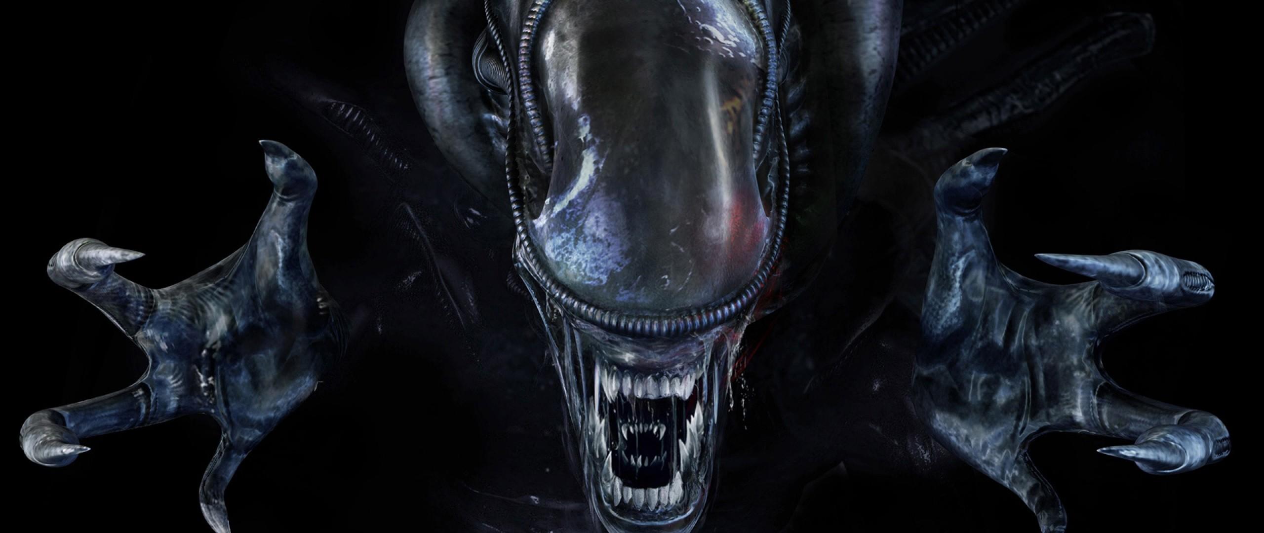 Wallpaper aliens colonial marines, xenomorph, alien