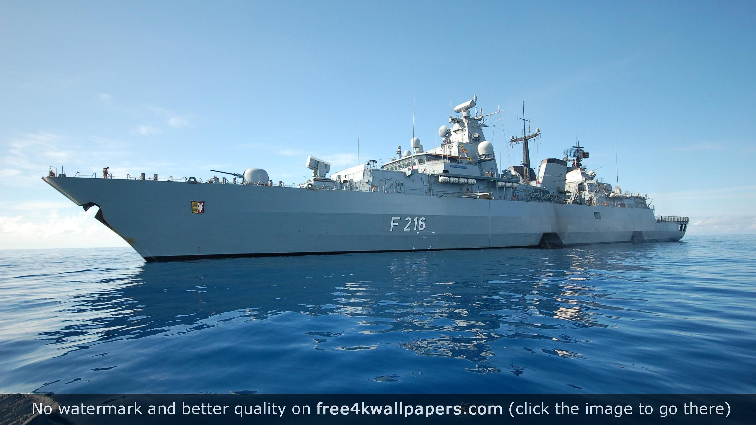 German Navy Battleship HD wallpaper