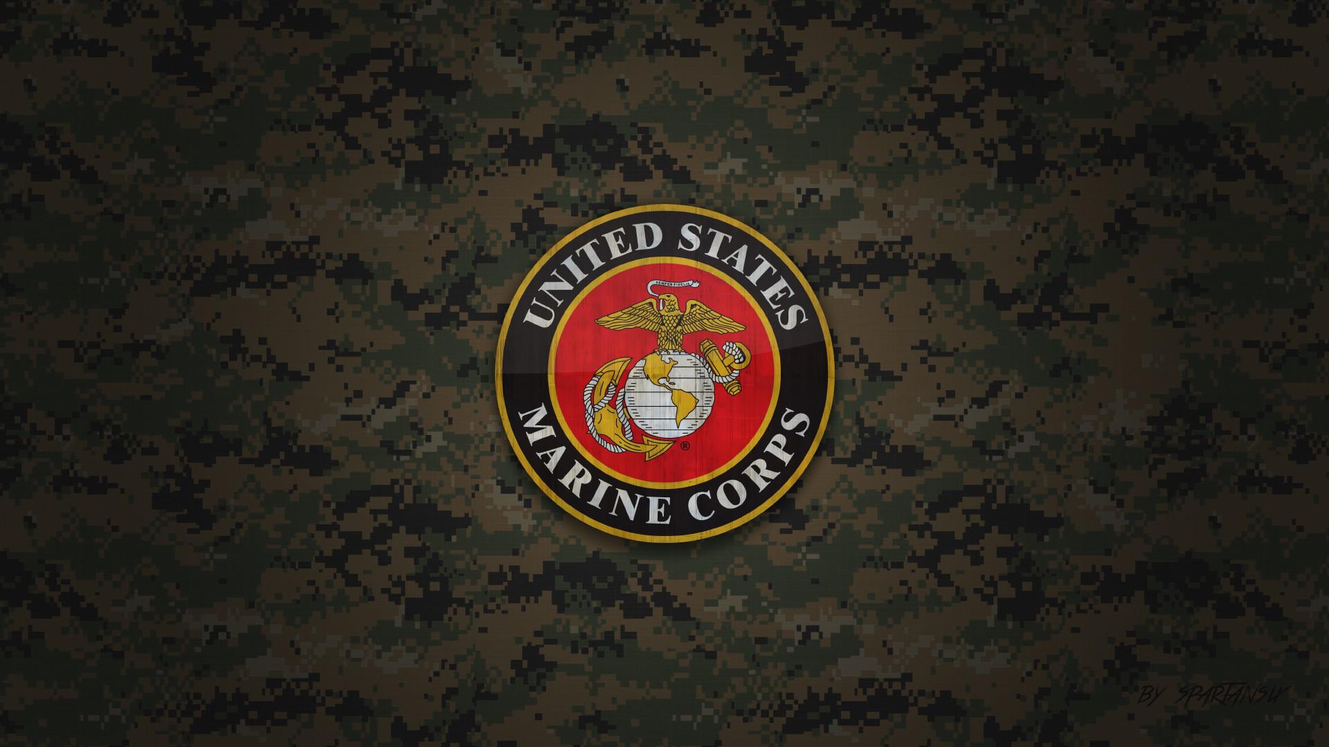 US Marine Corps Wallpaper by SpartanSix by SpartanSix on DeviantArt