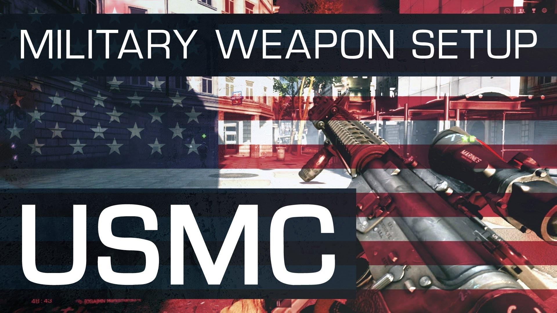 Battlefield 4 (BF4) M16A4 Military Weapon Setup : U.S. Marine Corps –  YouTube