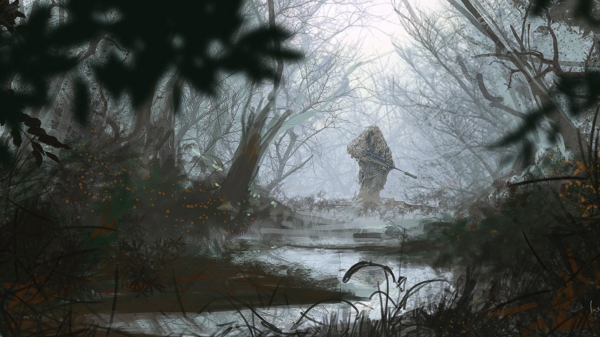 Marine Sniper Wallpaper Hd
