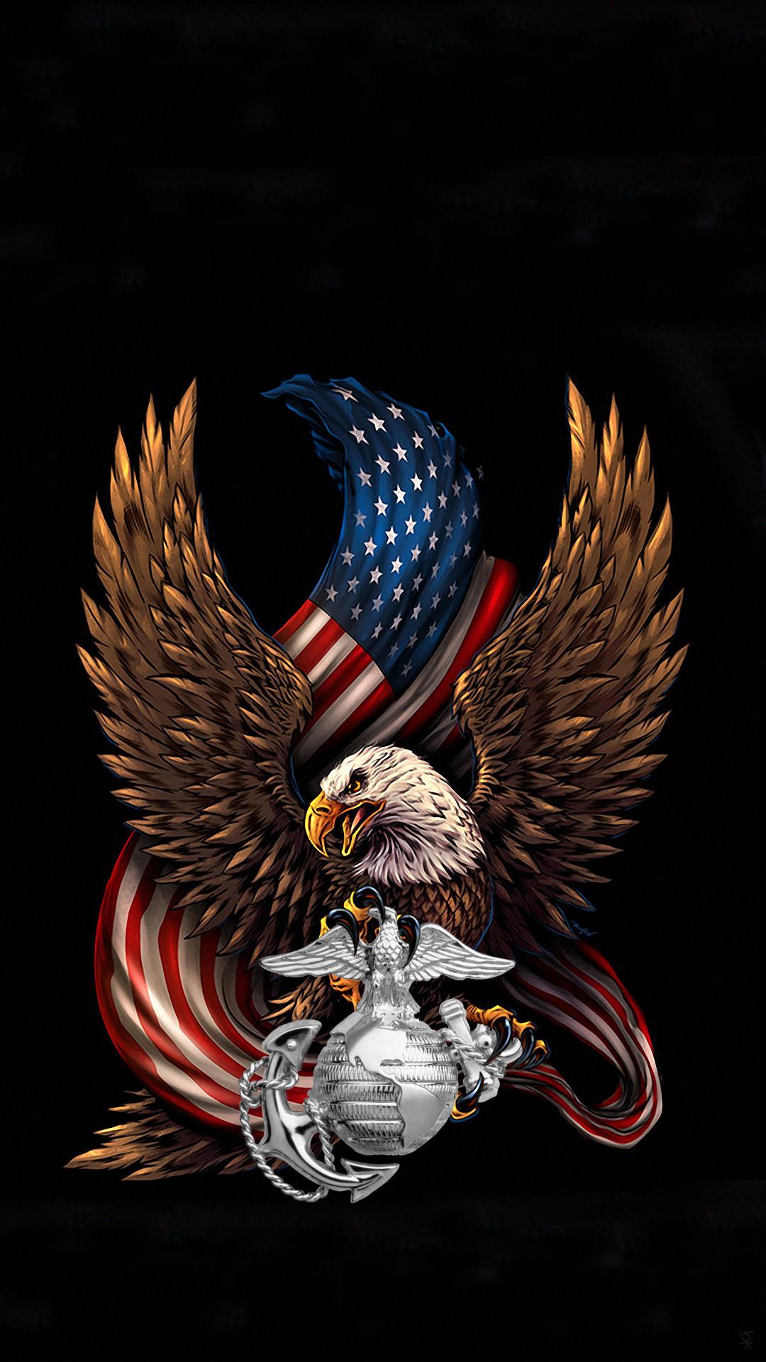 USMC Eagle silver.png