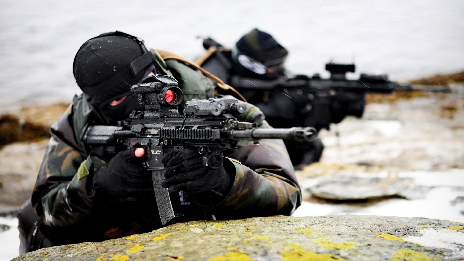 military norwegian hk416 future weapons aimpoint comp m4 HD Wallpapers