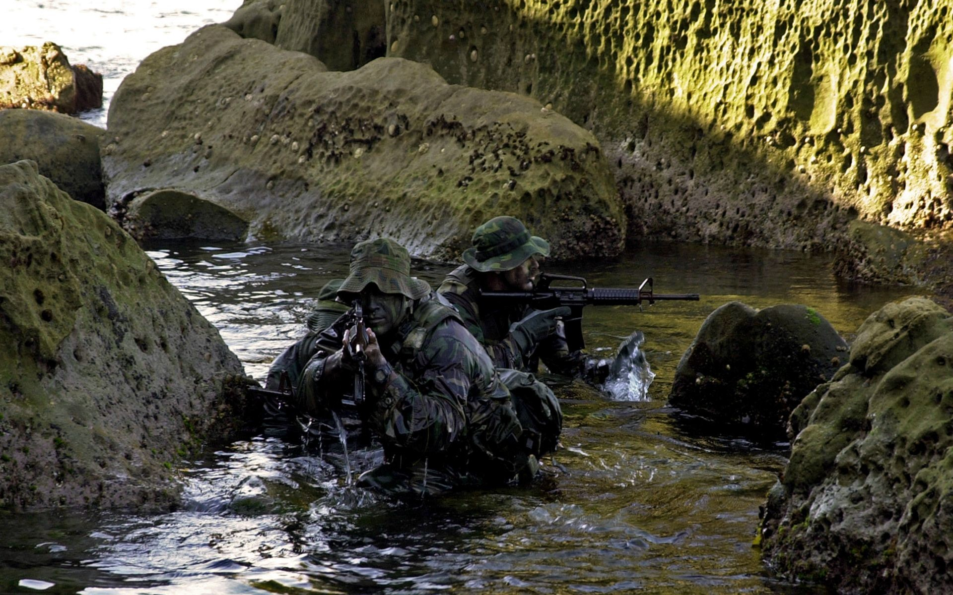 Navy Seal Trident Wallpaper Us navy seals bad to the bone
