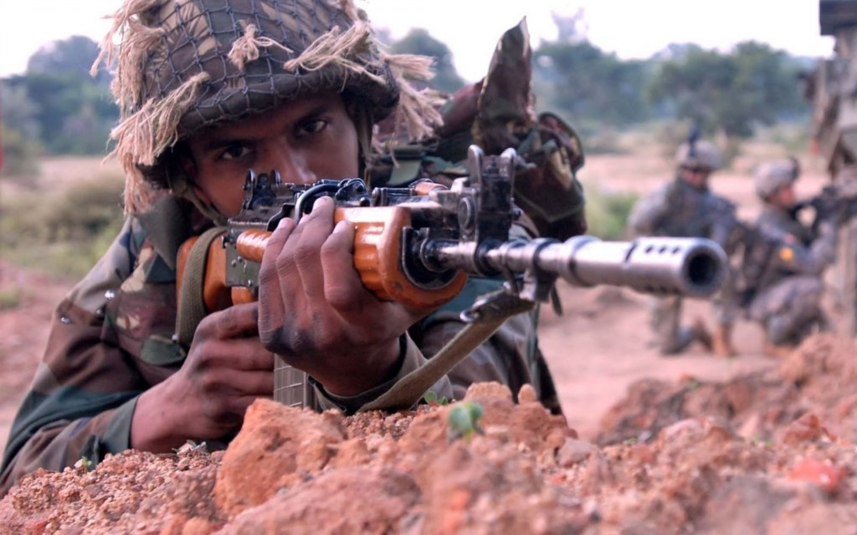 Indian Army HD Wallpaper – HDWallpapersin.com | HD Wallpapers for .