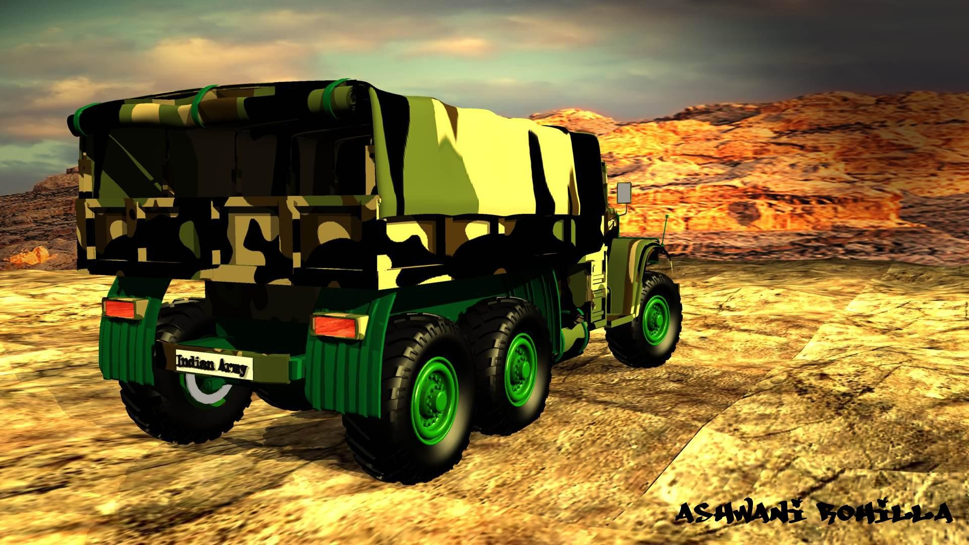 Indian Army Vehicles: Logistics and Engineering