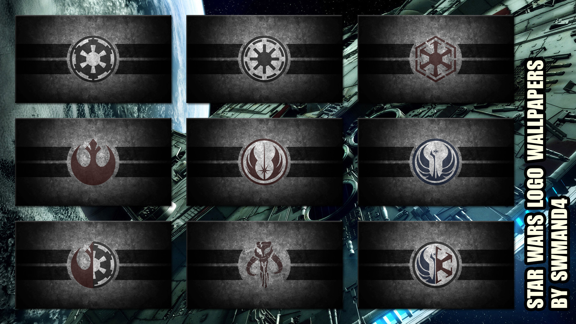 Star Wars Logos Wallpapers by swmand4 Star Wars Logos Wallpapers by swmand4