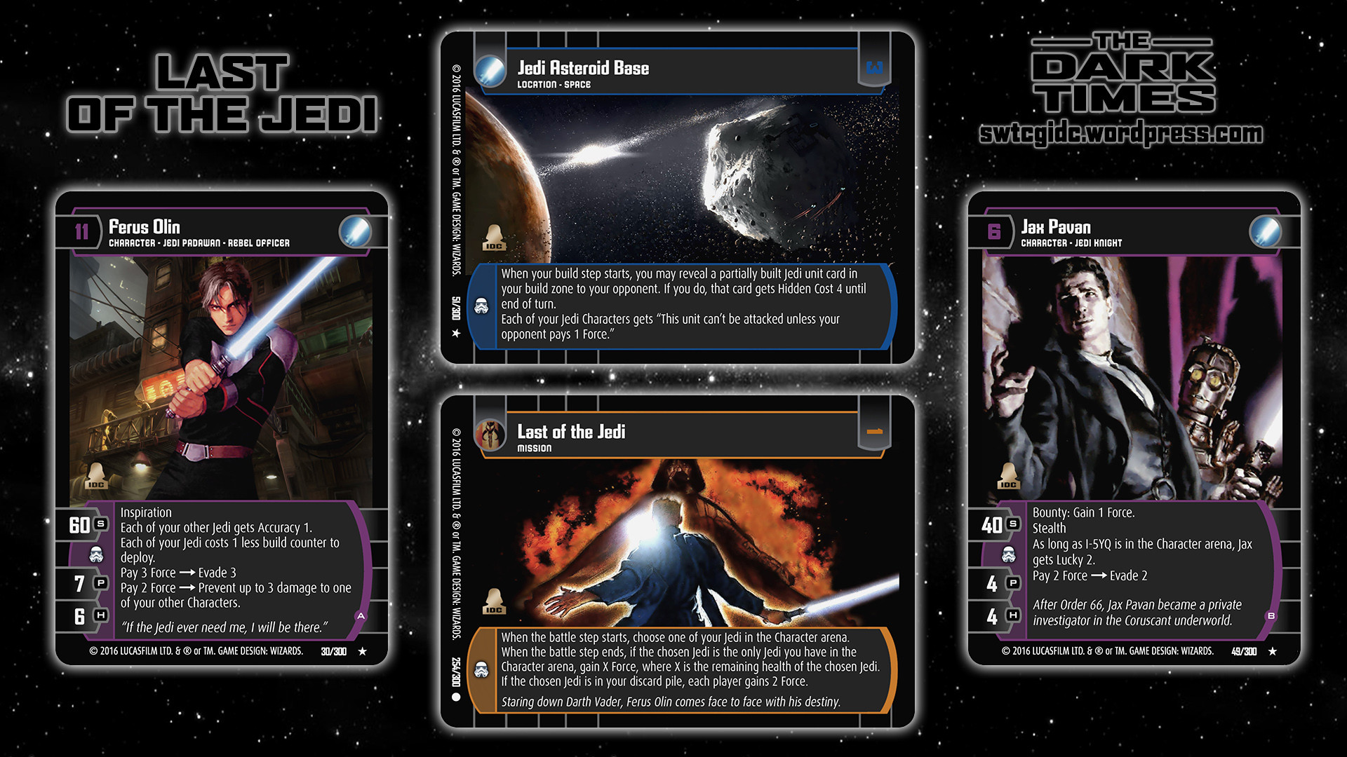TDT Wallpaper 1 – Last of the Jedi