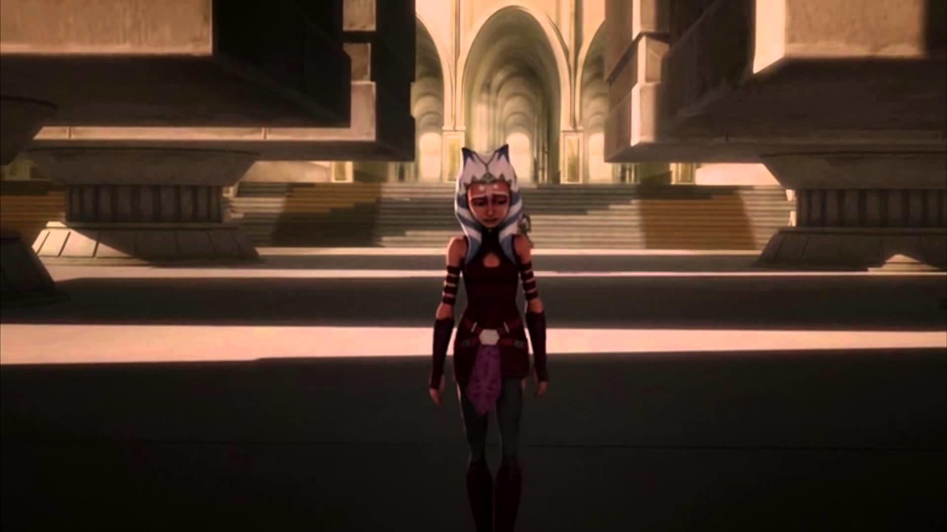 SW: The Clone Wars- Ahsoka Leaves The Jedi Order