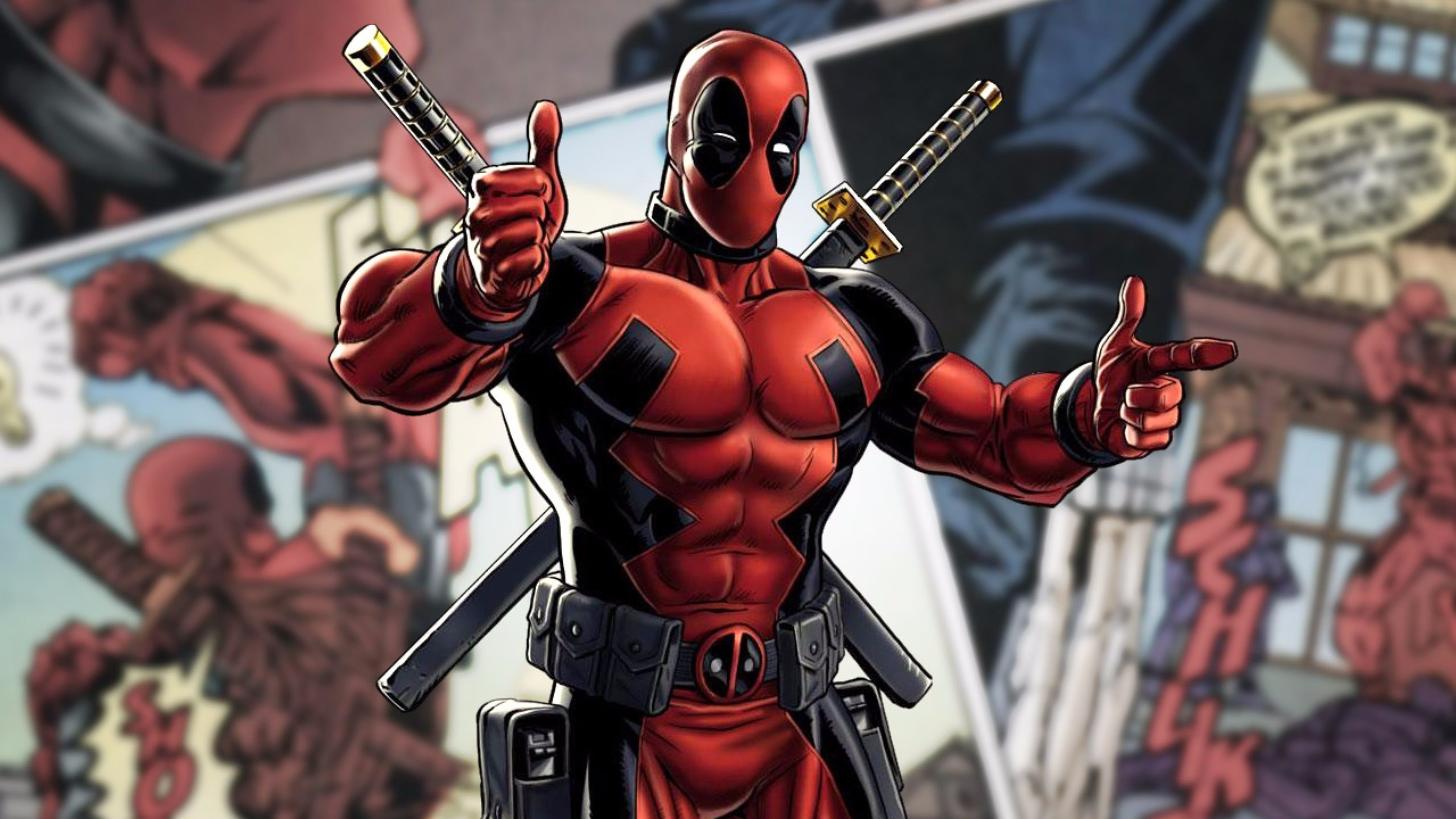 Launch Deadpool Movie 4K Wallpaper