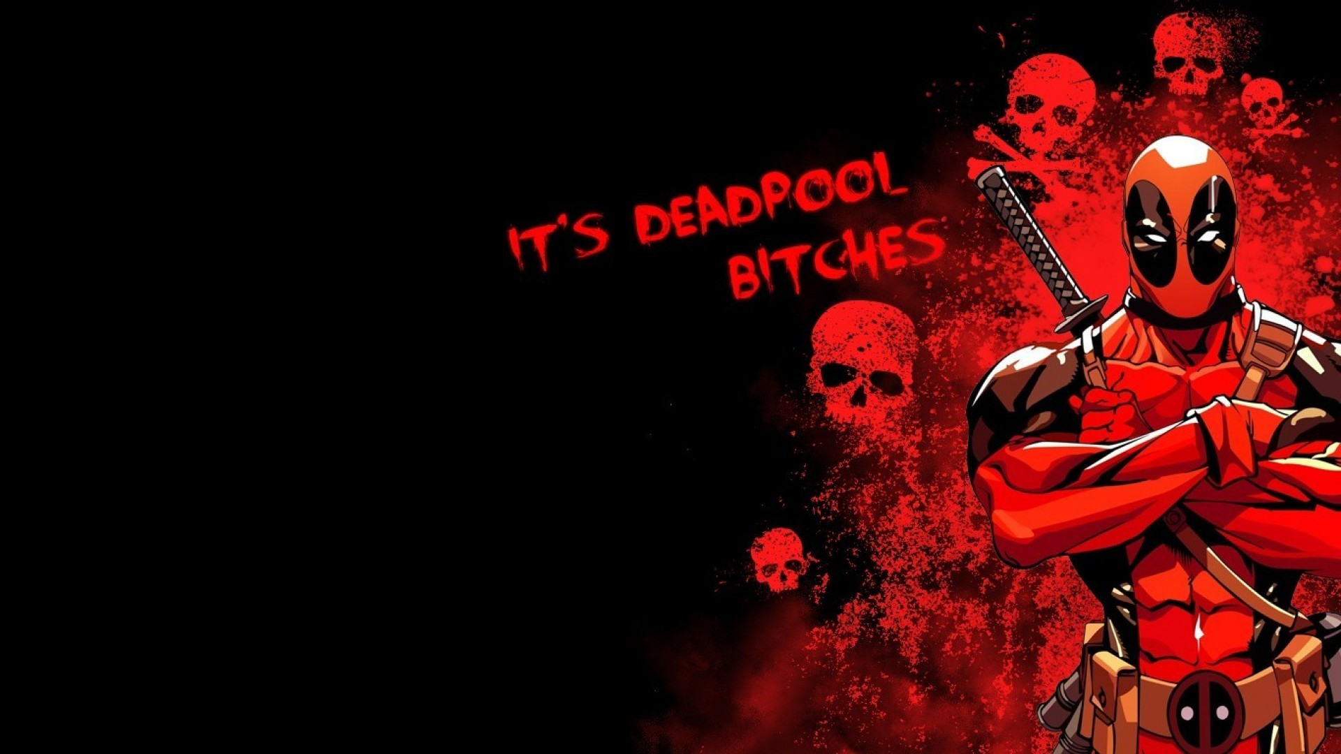 Deadpool Widescreen Wallpaper Funny Deadpool Wallpaper