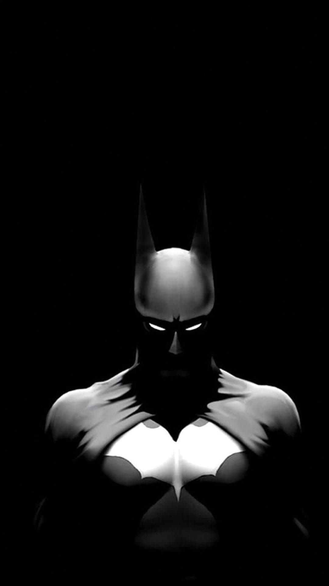 Batman Dark Illustration iPhone 6 Plus HD Wallpaper / iPod Wallpaper .