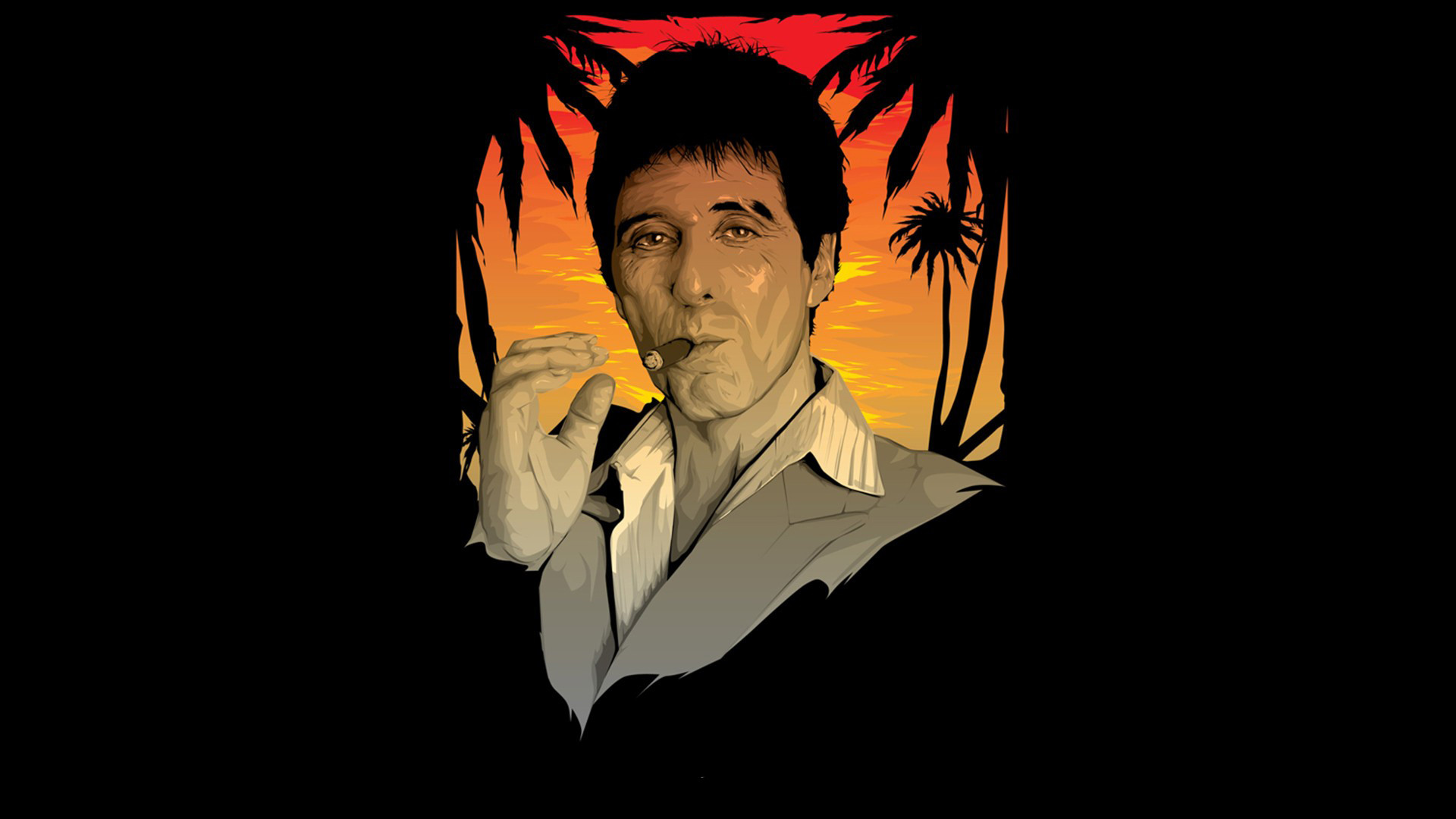 Scarface Full HD Wallpaper https://wallpapers-and-backgrounds.net/