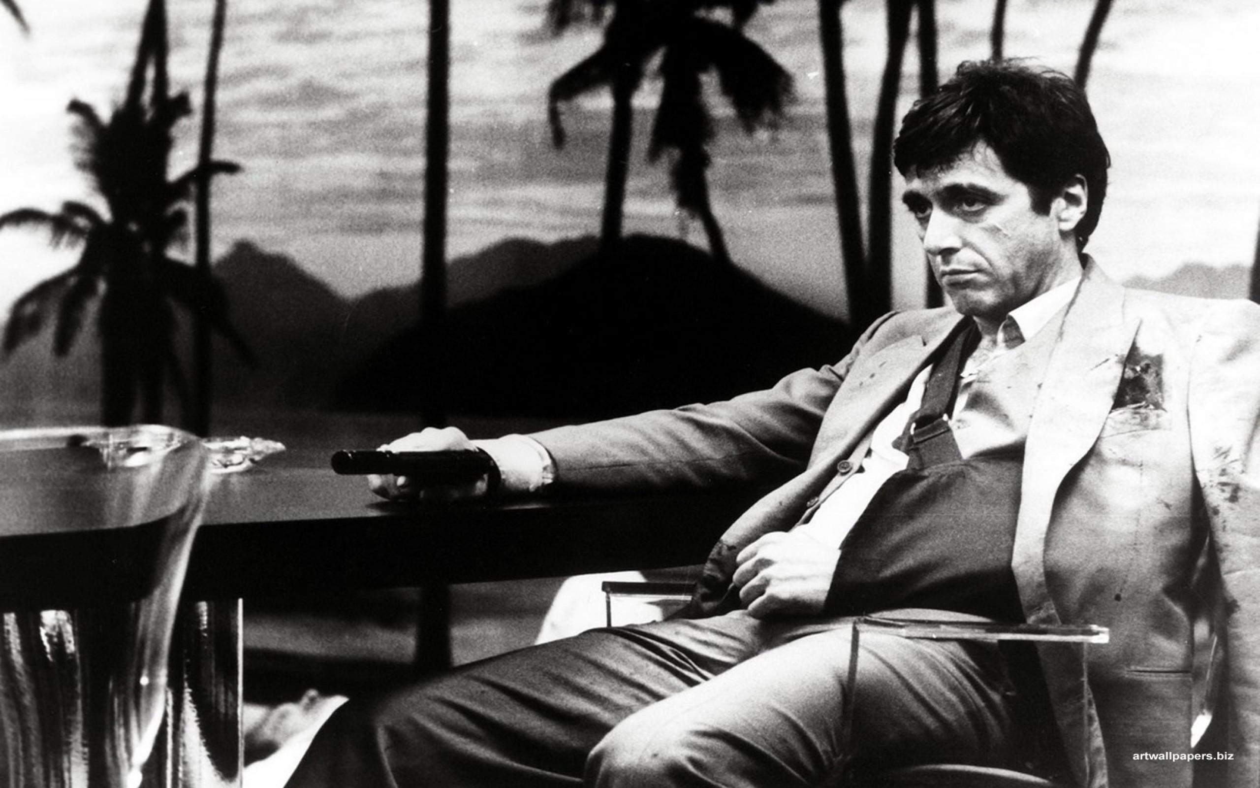 Al Pacino in Scarface directed by Brian De Palma, 1983