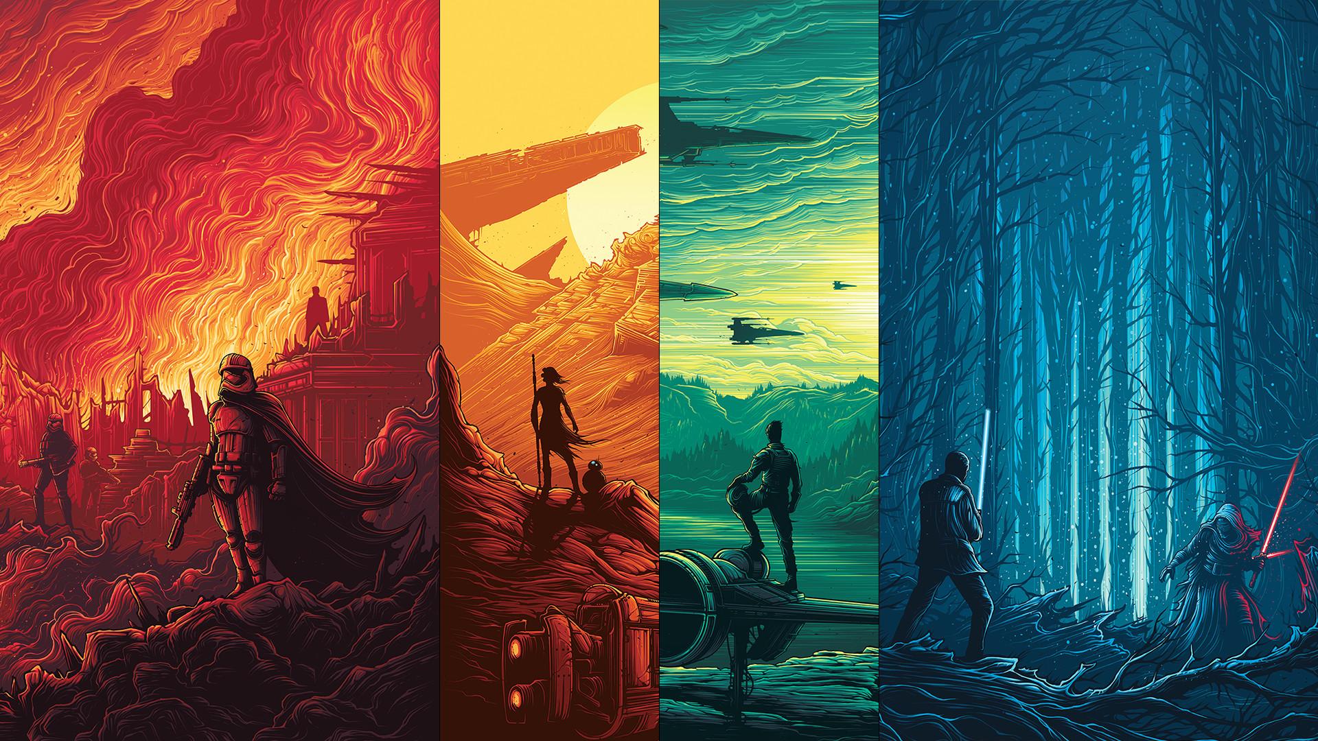 1080p – Star Wars Poster Wallpaper