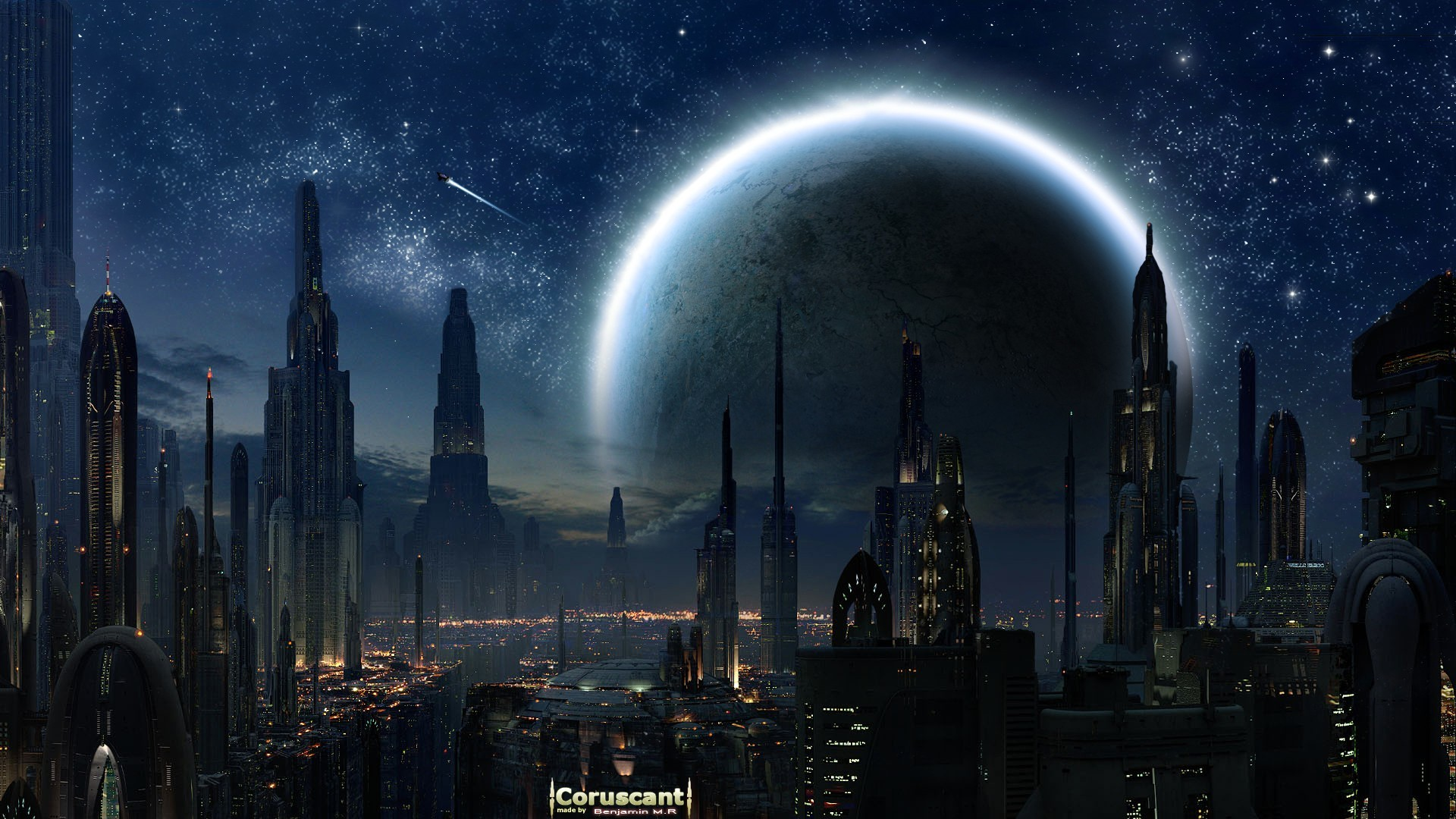 Star Wars Wallpaper Star, Wars, Cityscapes, Futuristic .
