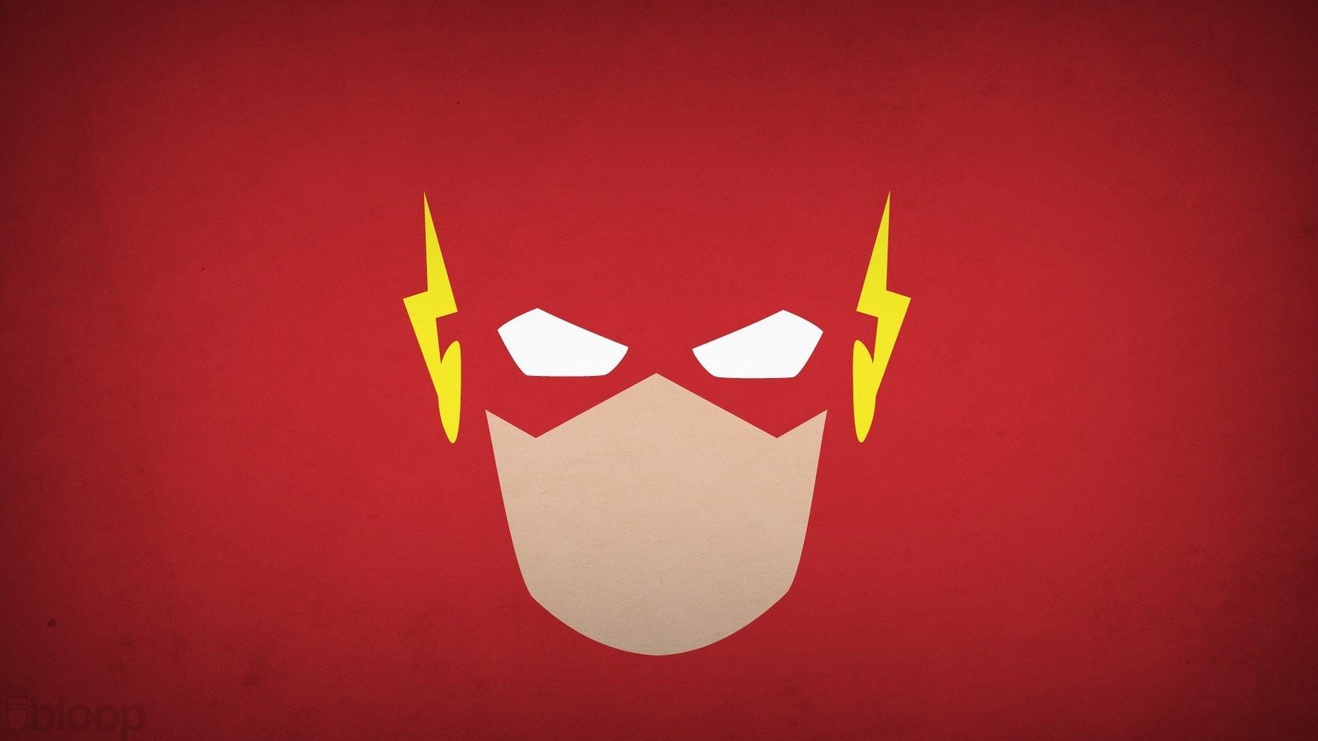 DC Comics Minimalism Simple Background The Flash Superheroes …