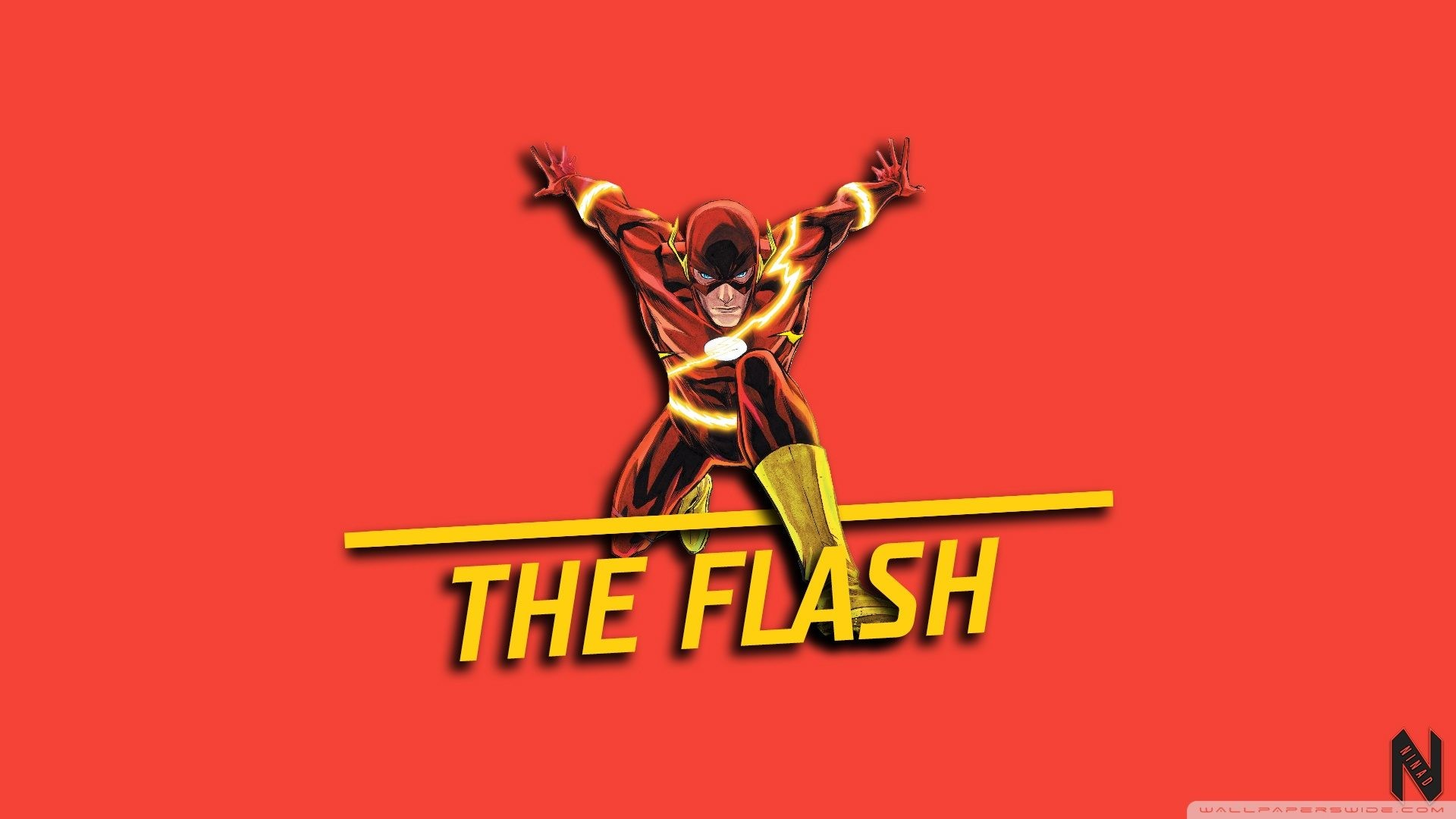 The Flash 4K HD wallpaper