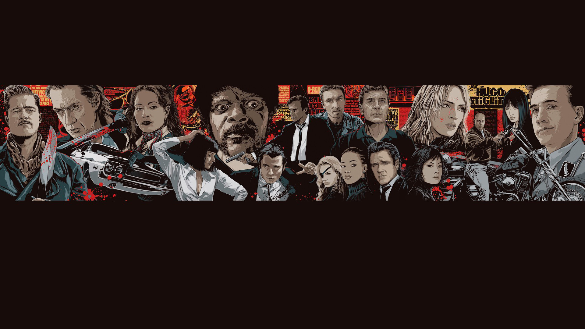Pulp Fiction Movie Image source from this