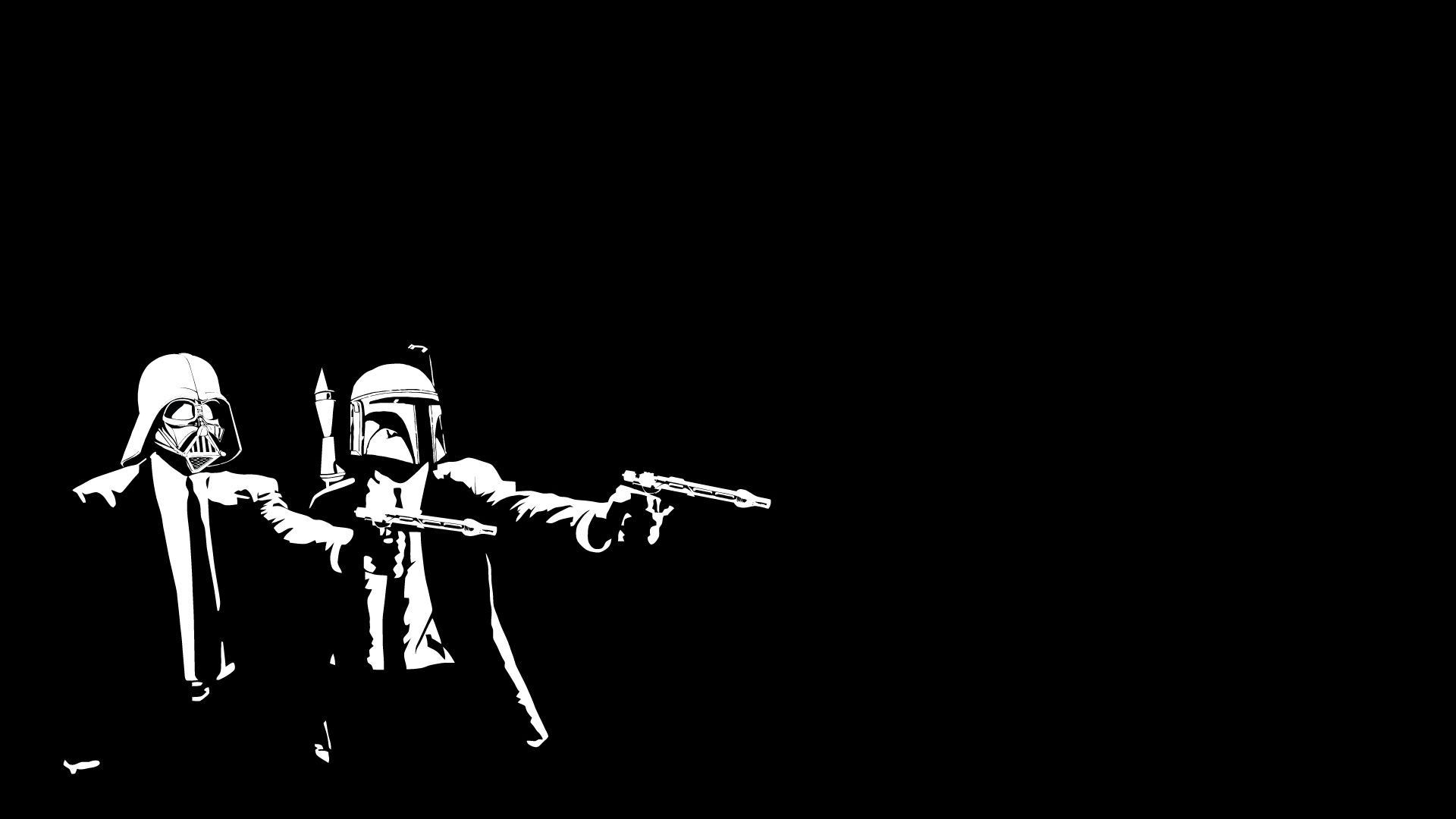 You can view, download and comment on Star Wars Pulp Fiction Crossover free hd  wallpapers