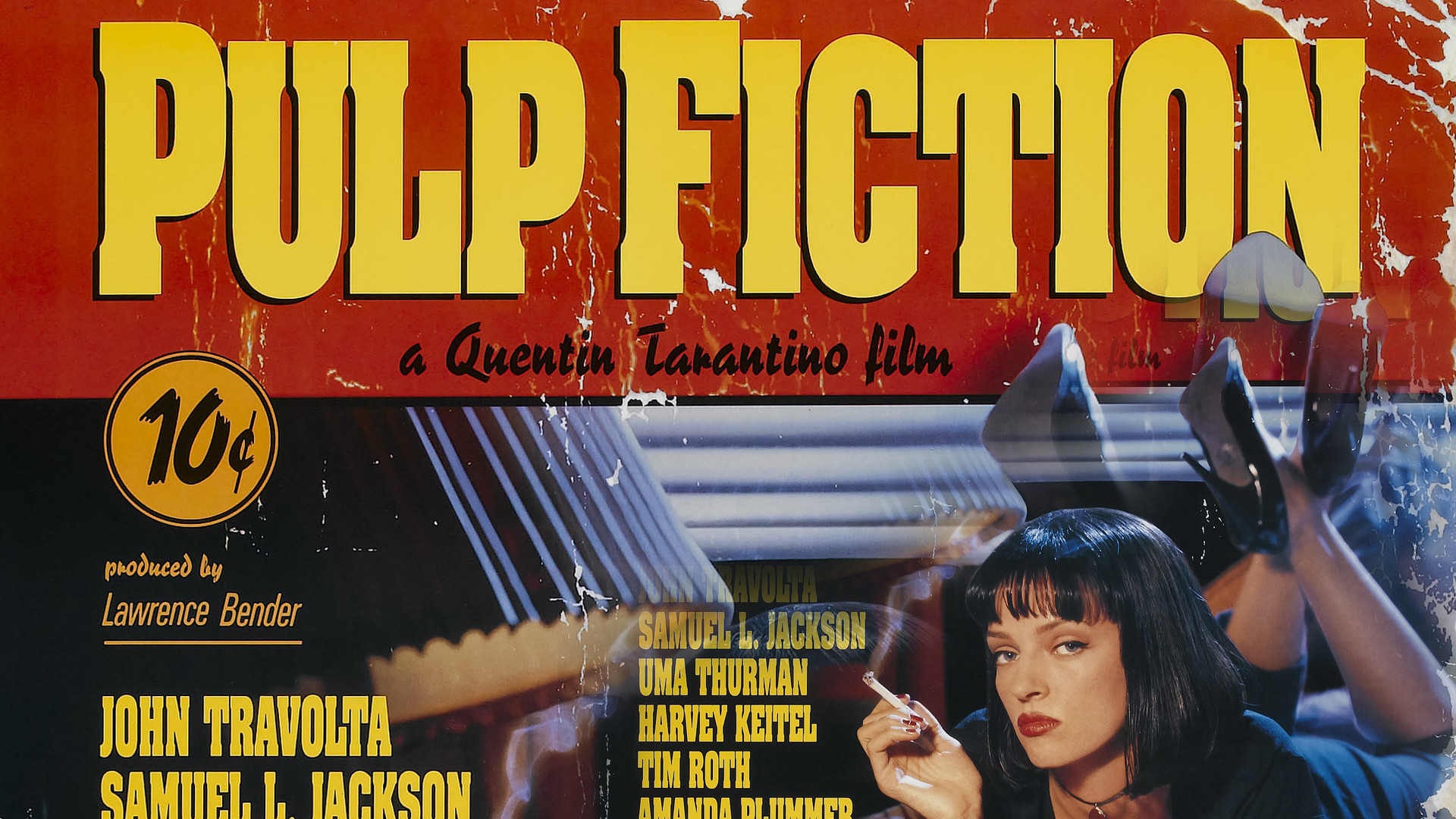 … Pulp Fiction Xbox 360 Dashboard Wallpaper by Udder-Juice