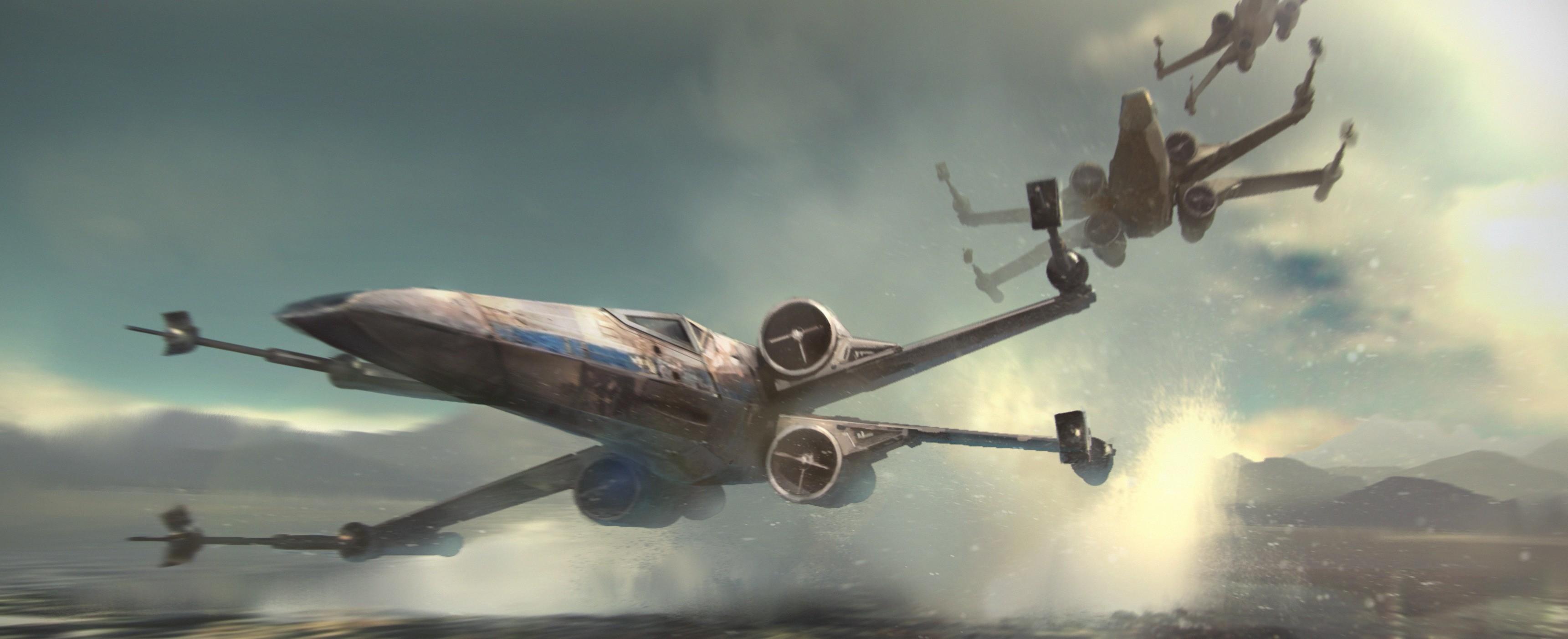 Movie – Star Wars Episode VII: The Force Awakens Star Wars X-Wing Wallpaper