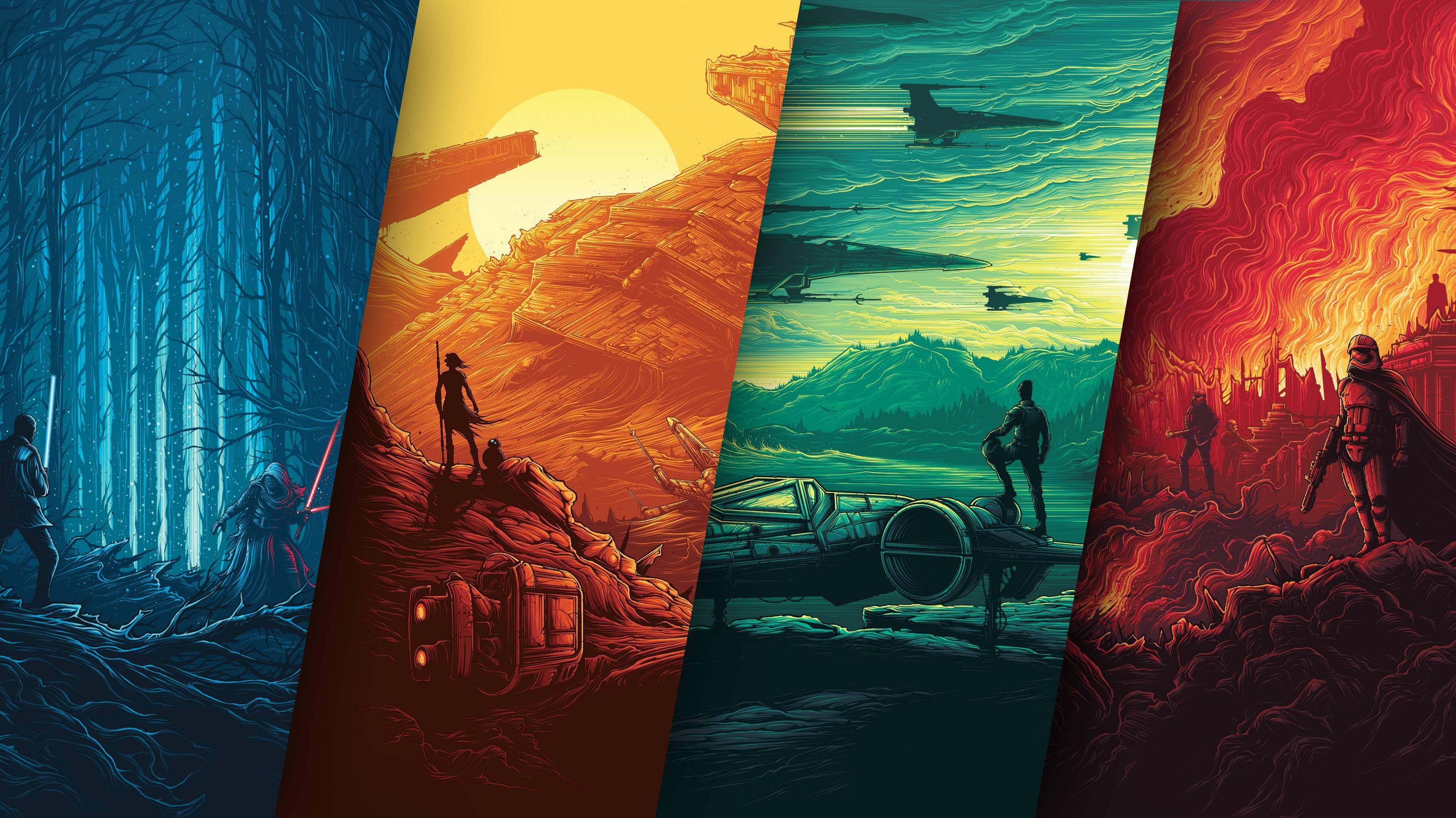 Star Wars Poster 4k