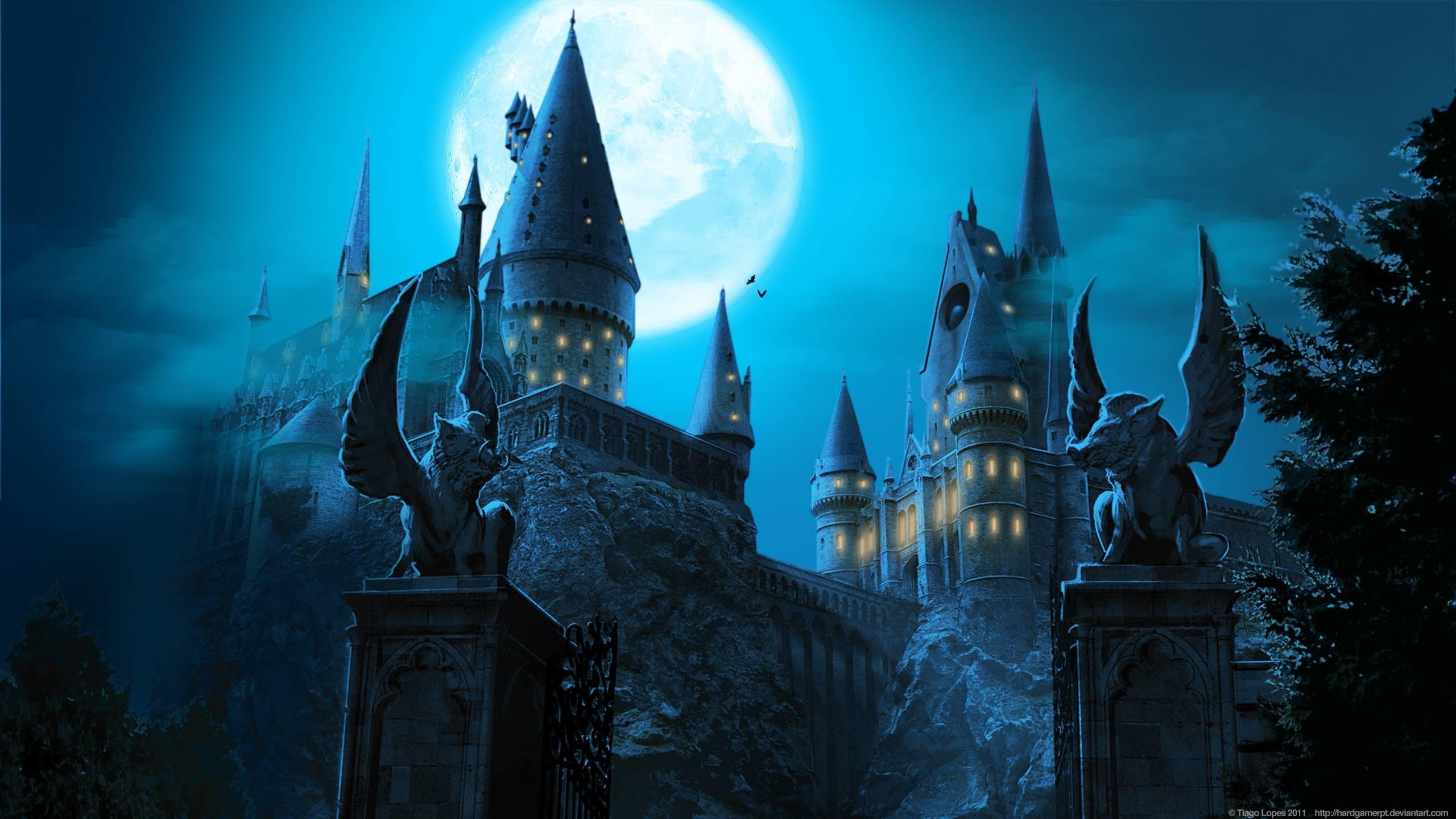 Images For > Hogwarts Castle Wallpaper