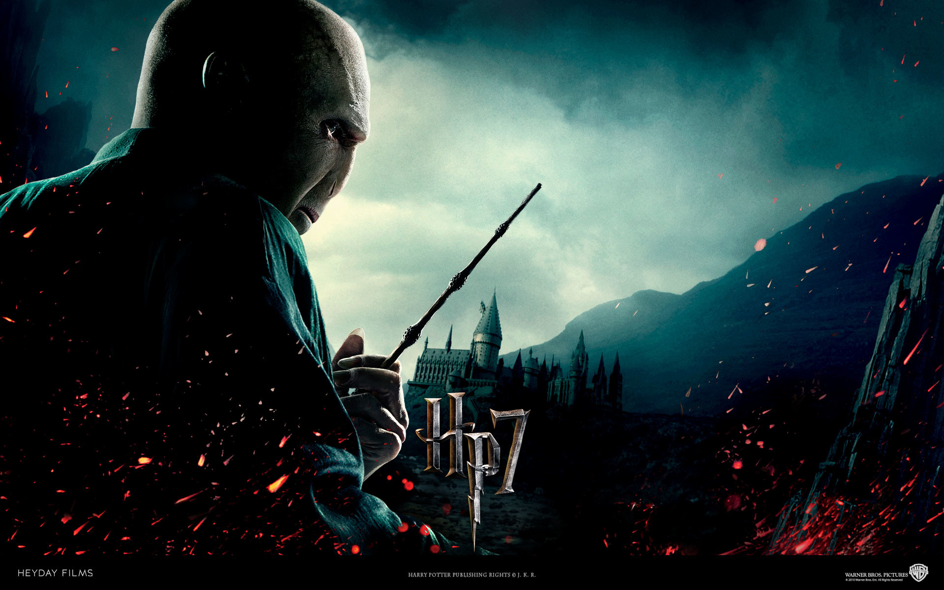 Harry Potter And The Deathly Hallows Part 2 Draco HD desktop wallpaper