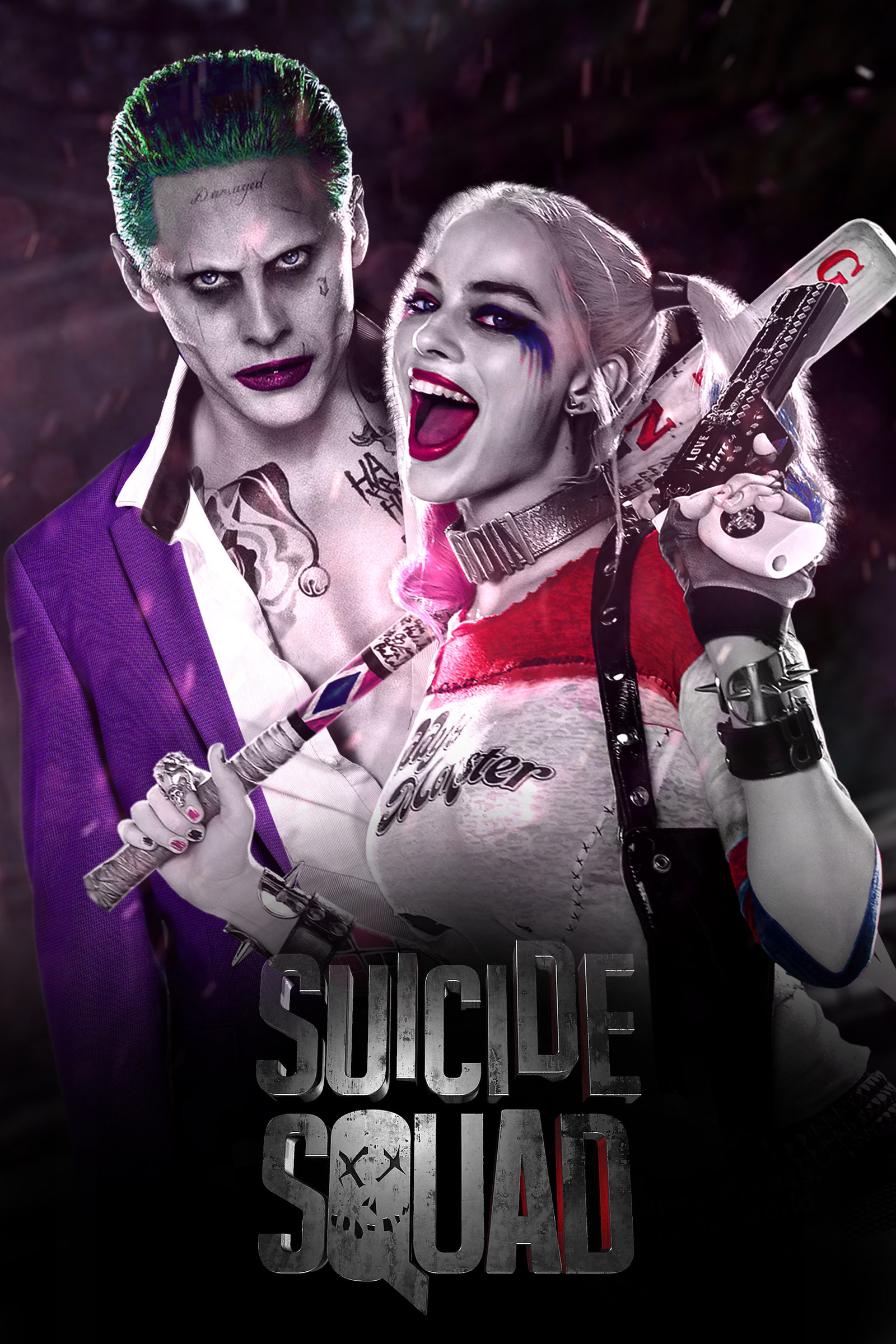 Suicide Squad – Joker and Harley Quinn by jhonaphone on DeviantArt