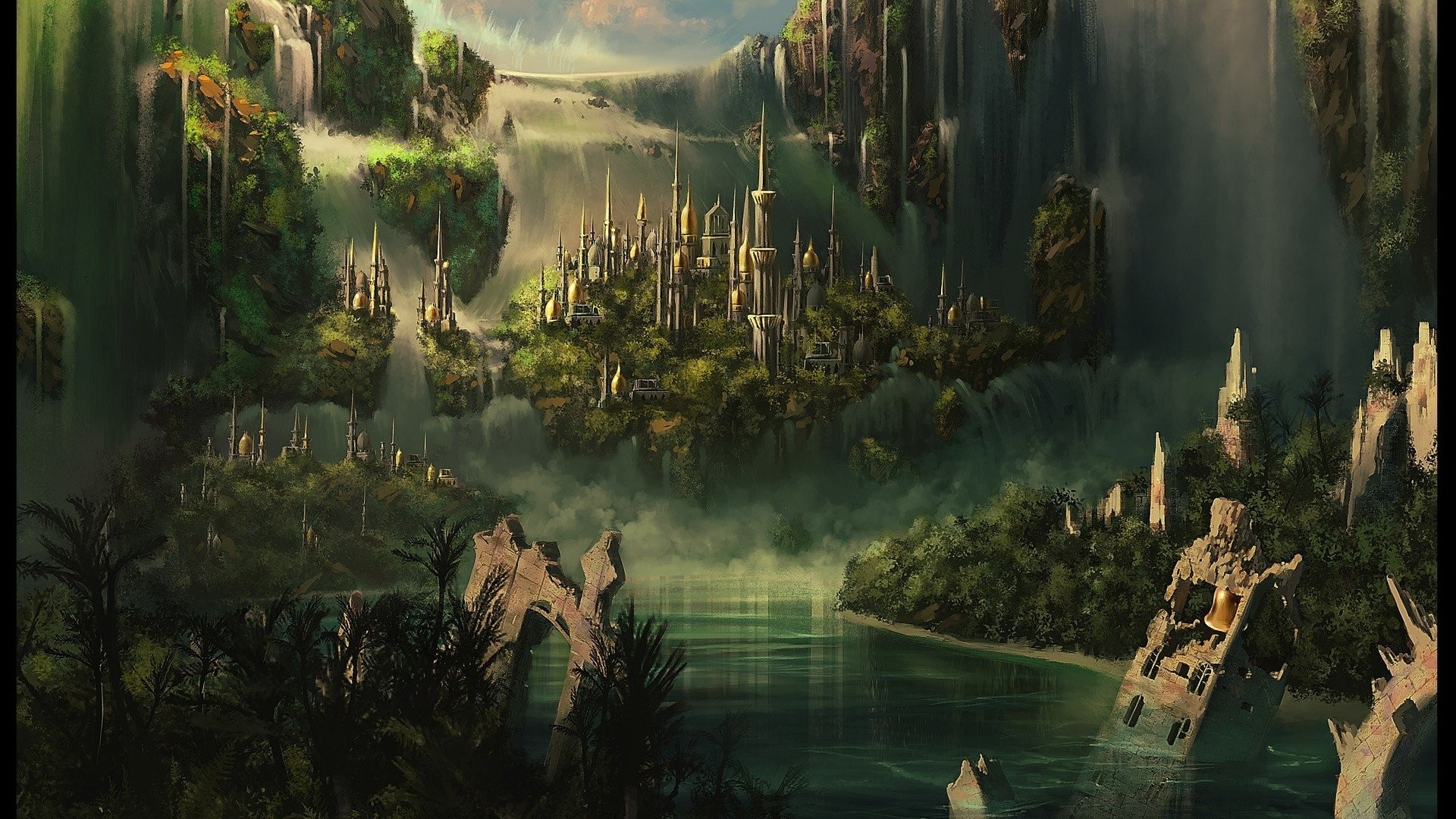 Lord Of The Rings HD Wallpapers Backgrounds Wallpaper