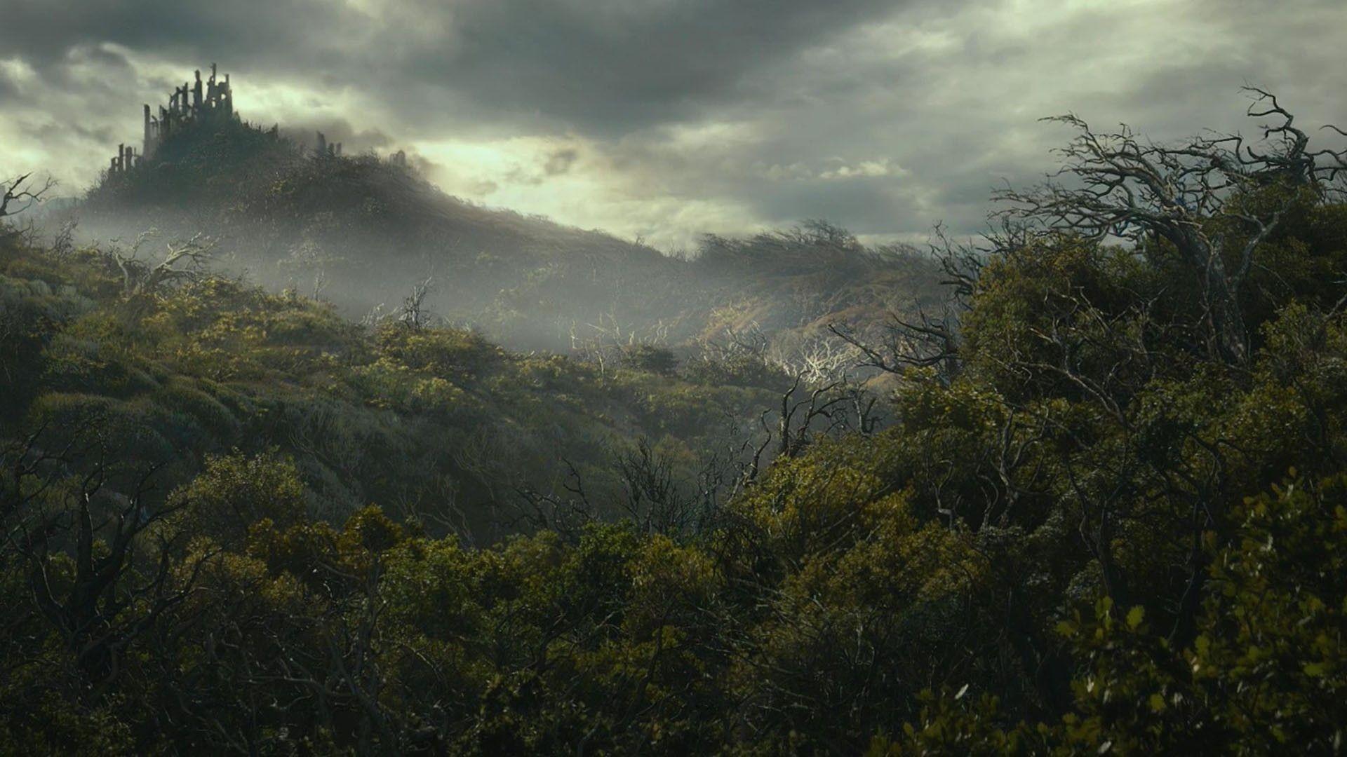 Dol Guldur Hobbit Lord Rings Lotr Wallpaper Detail
