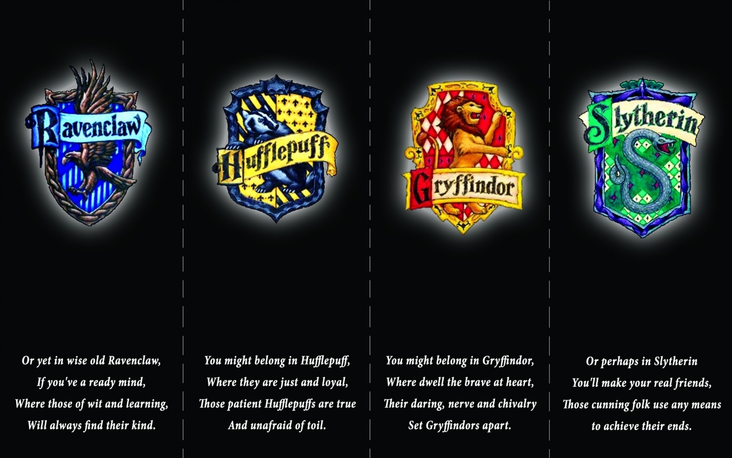harry potter hufflepuff logos gryffindor hogwarts slytherin ravenclaw  1584×1049 wallpaper Art HD Wallpaper