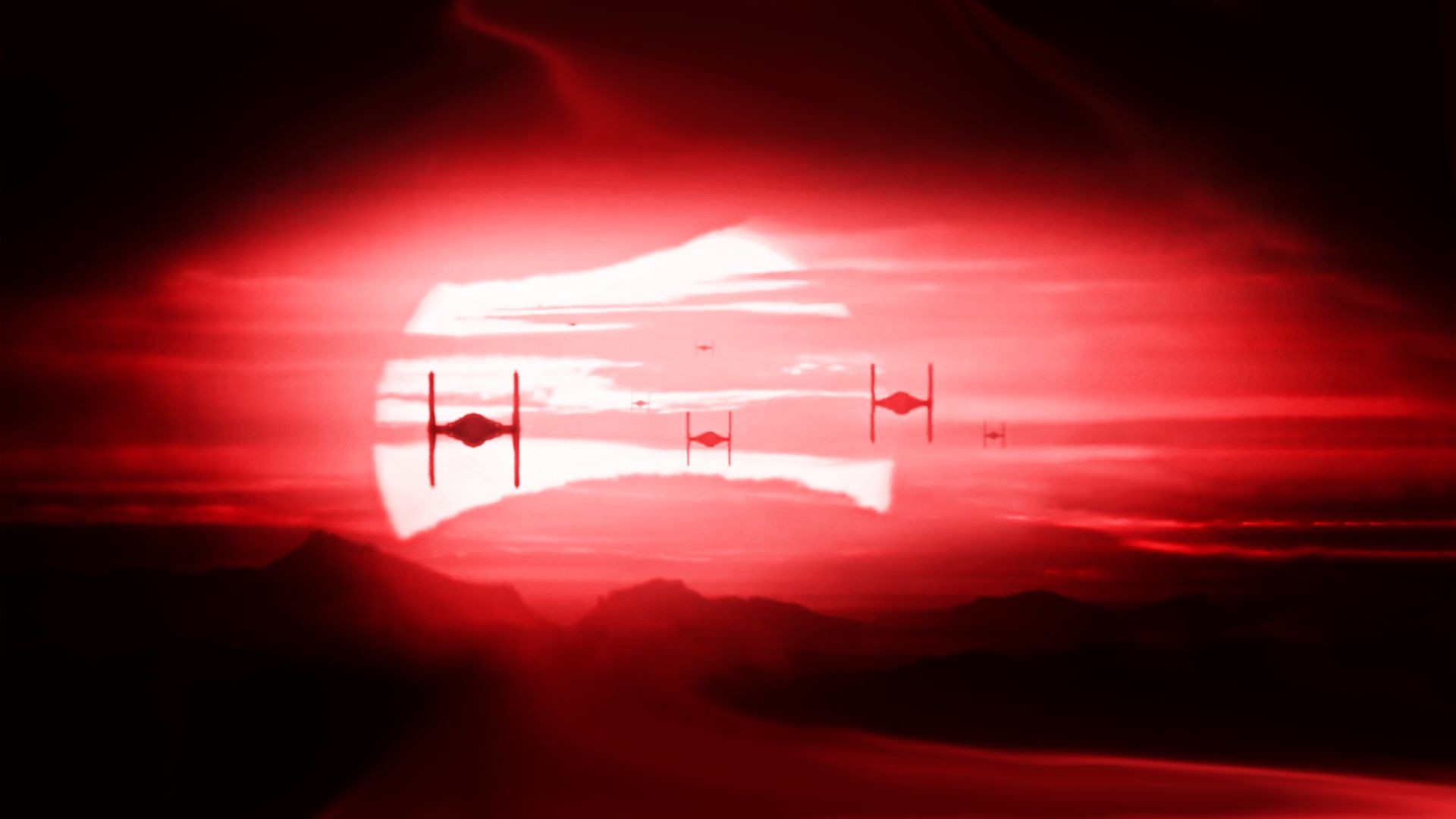 Star Wars The Force Awakens TIE Fighters Backgrounds