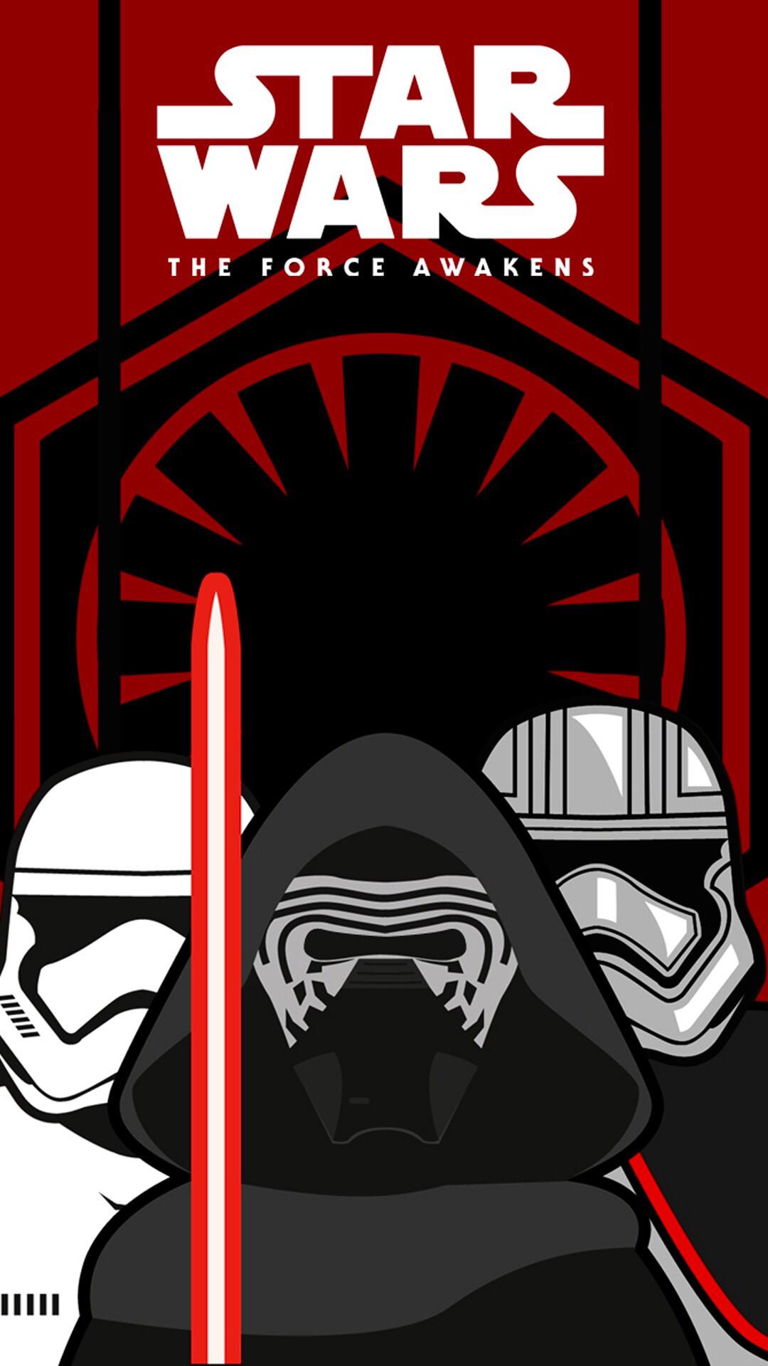 First Order phone wallpaper. Made a Star Wars …