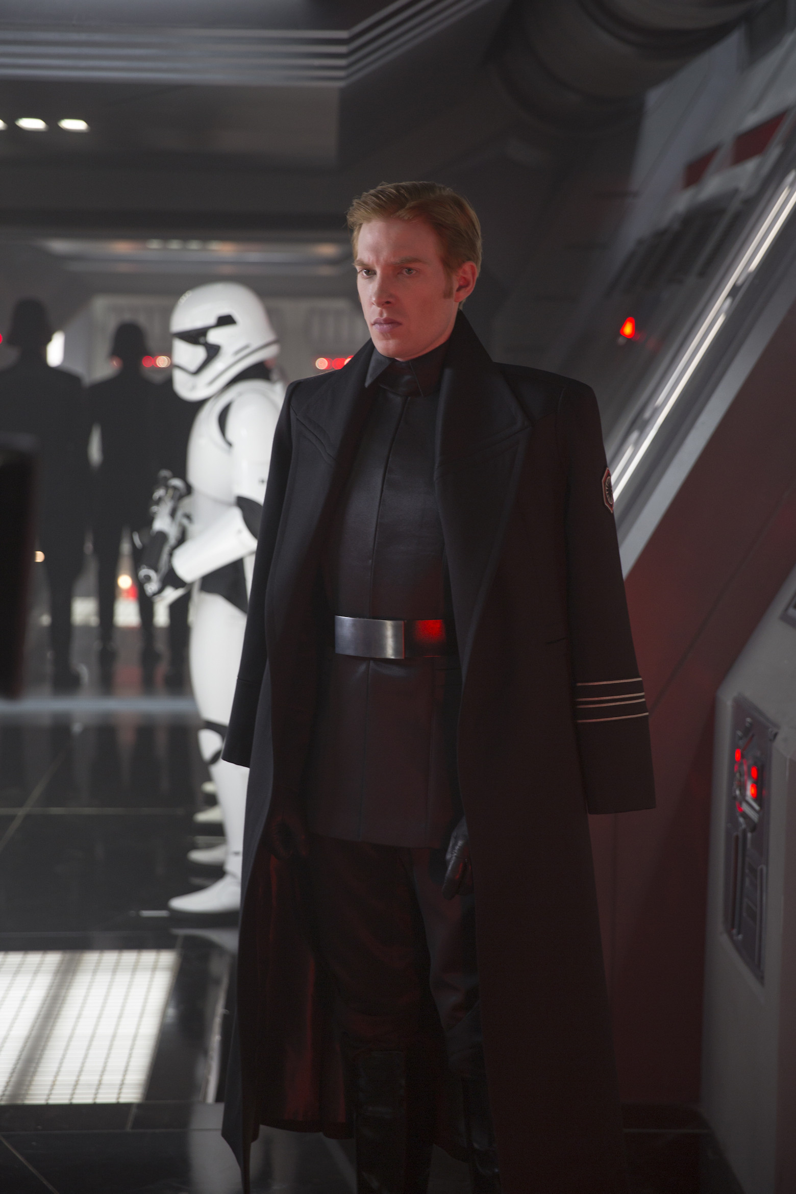 General Hux of the First Order Star Wars 7.