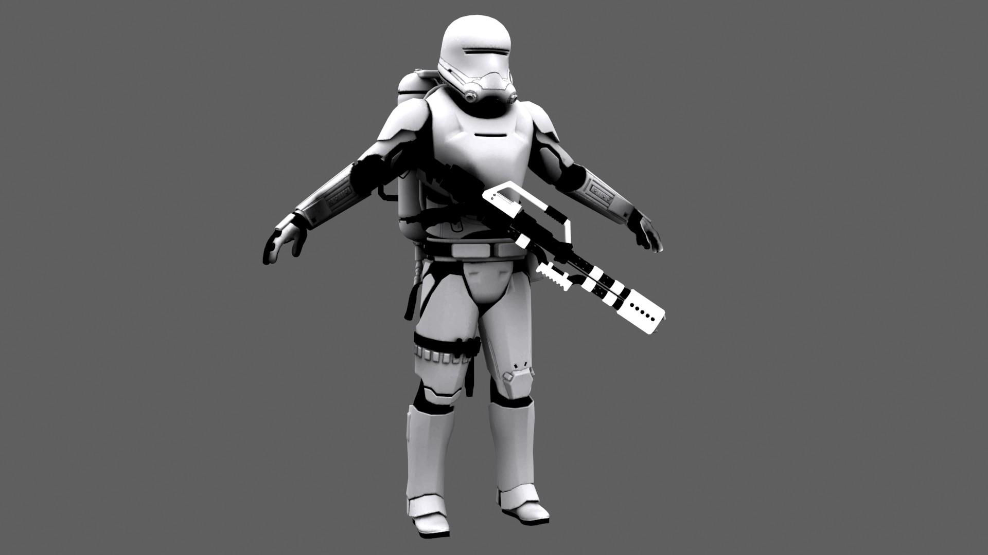 … Star Wars Force Awakens First Order FlameTrooper by JakeGreen163