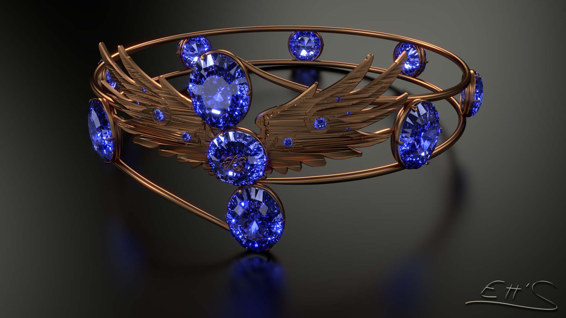 … Anneau Rowena Serdaigle / Ring Rowena Ravenclaw – by Etrelley