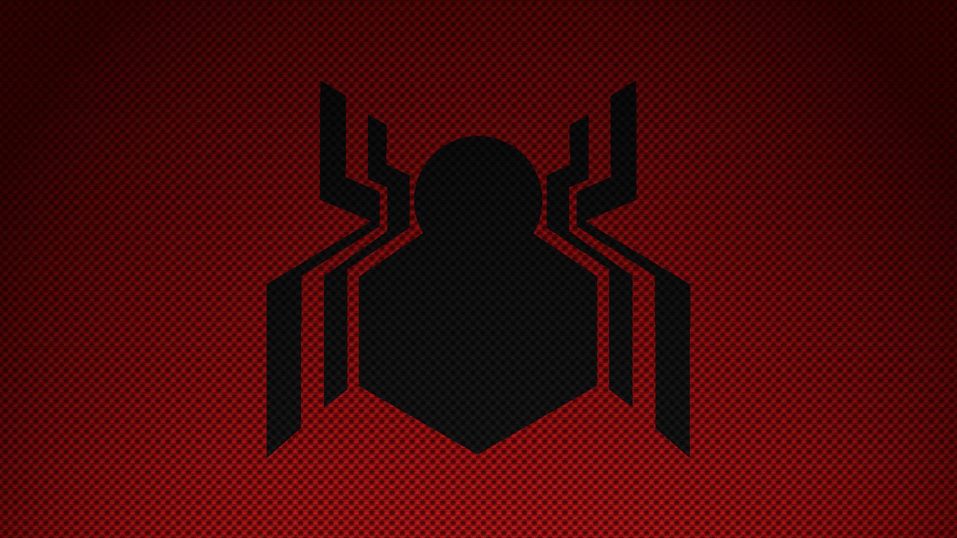 Made a simple MCU Spider-Man Logo wallpaper …