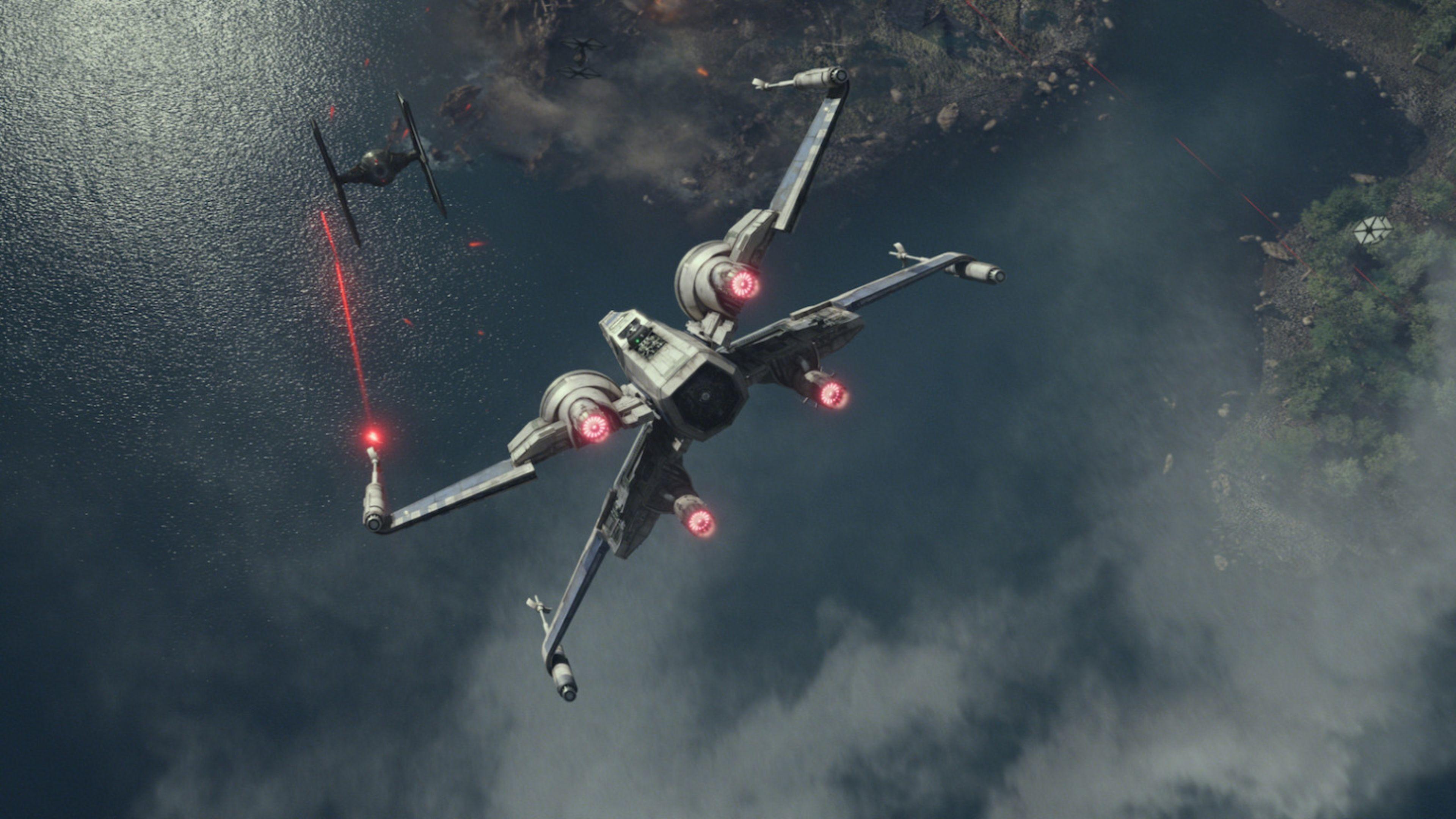 Free Star Wars The Force Awakens 4K Wallpaper