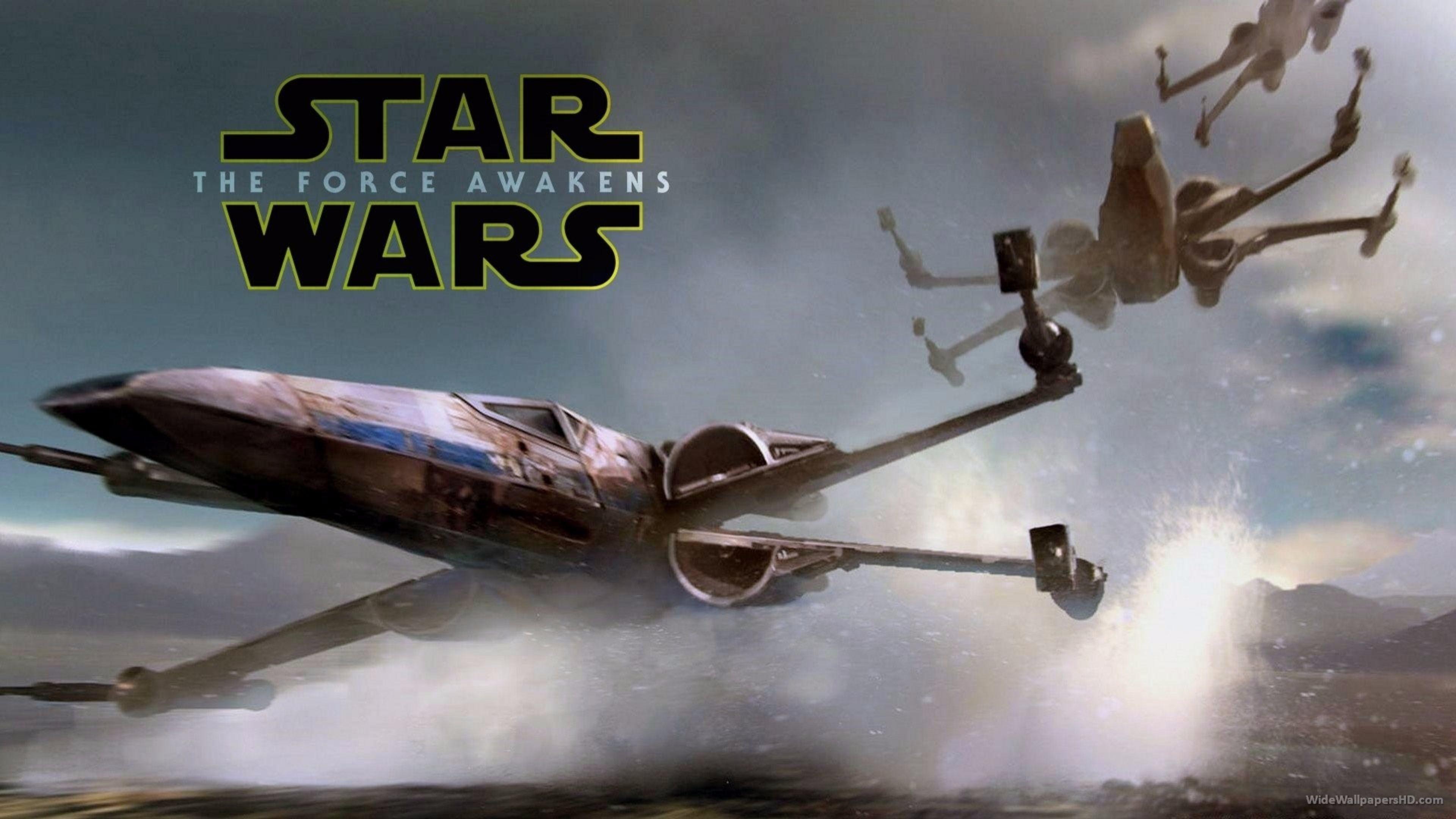 Download Free Star Wars The Force Awakens 4K Wallpaper