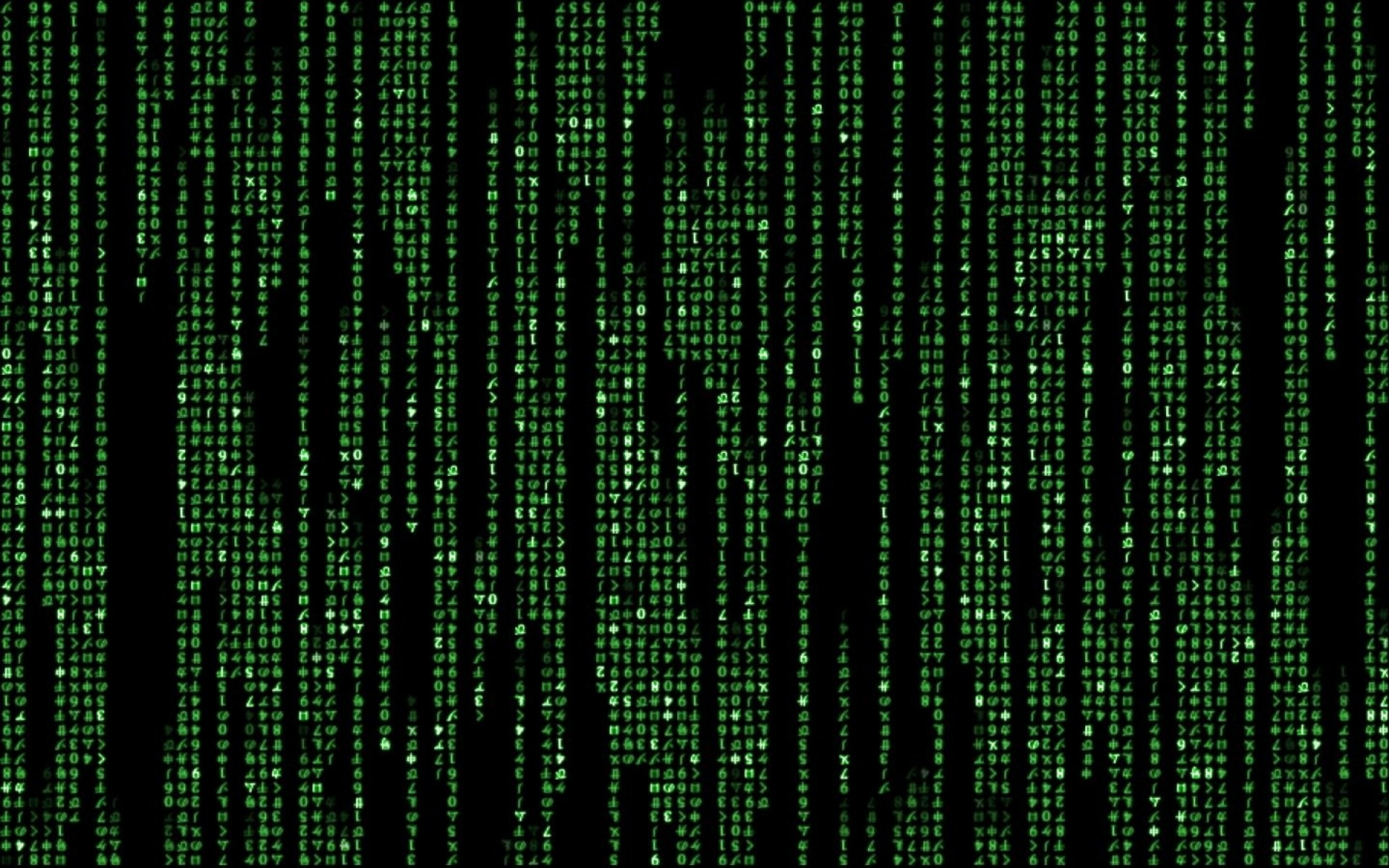 Animated Matrix Wallpaper