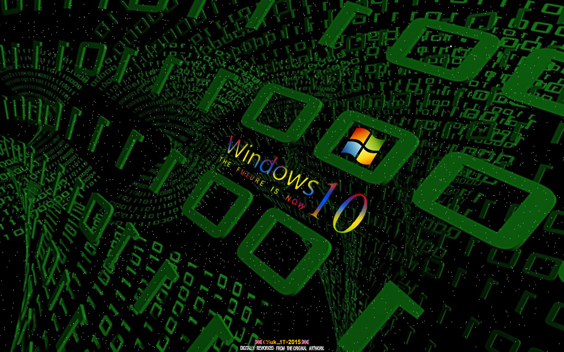 … WINDOWS 10 MATRIX by CSuk-1T