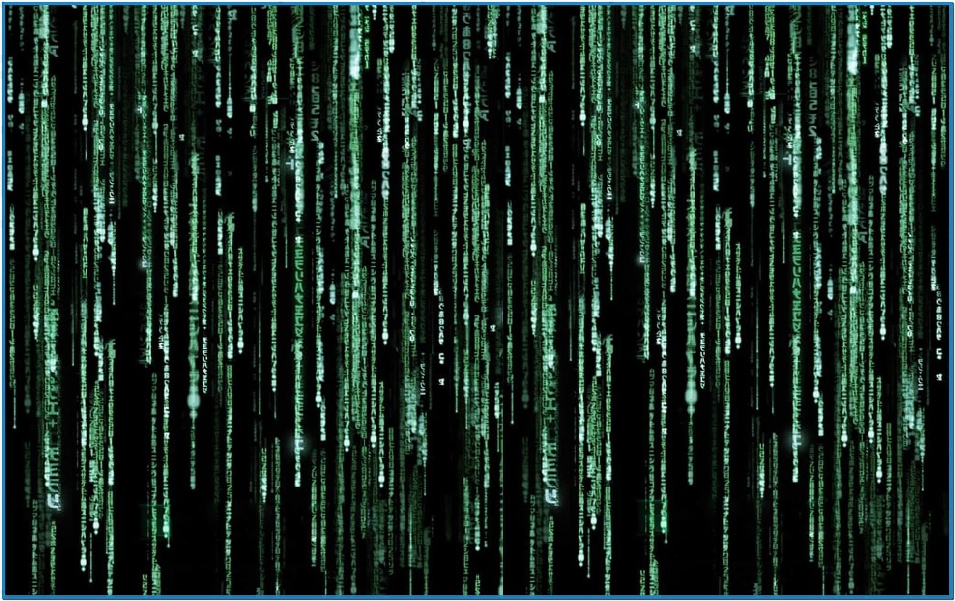 Matrix Screensaver Windows 8